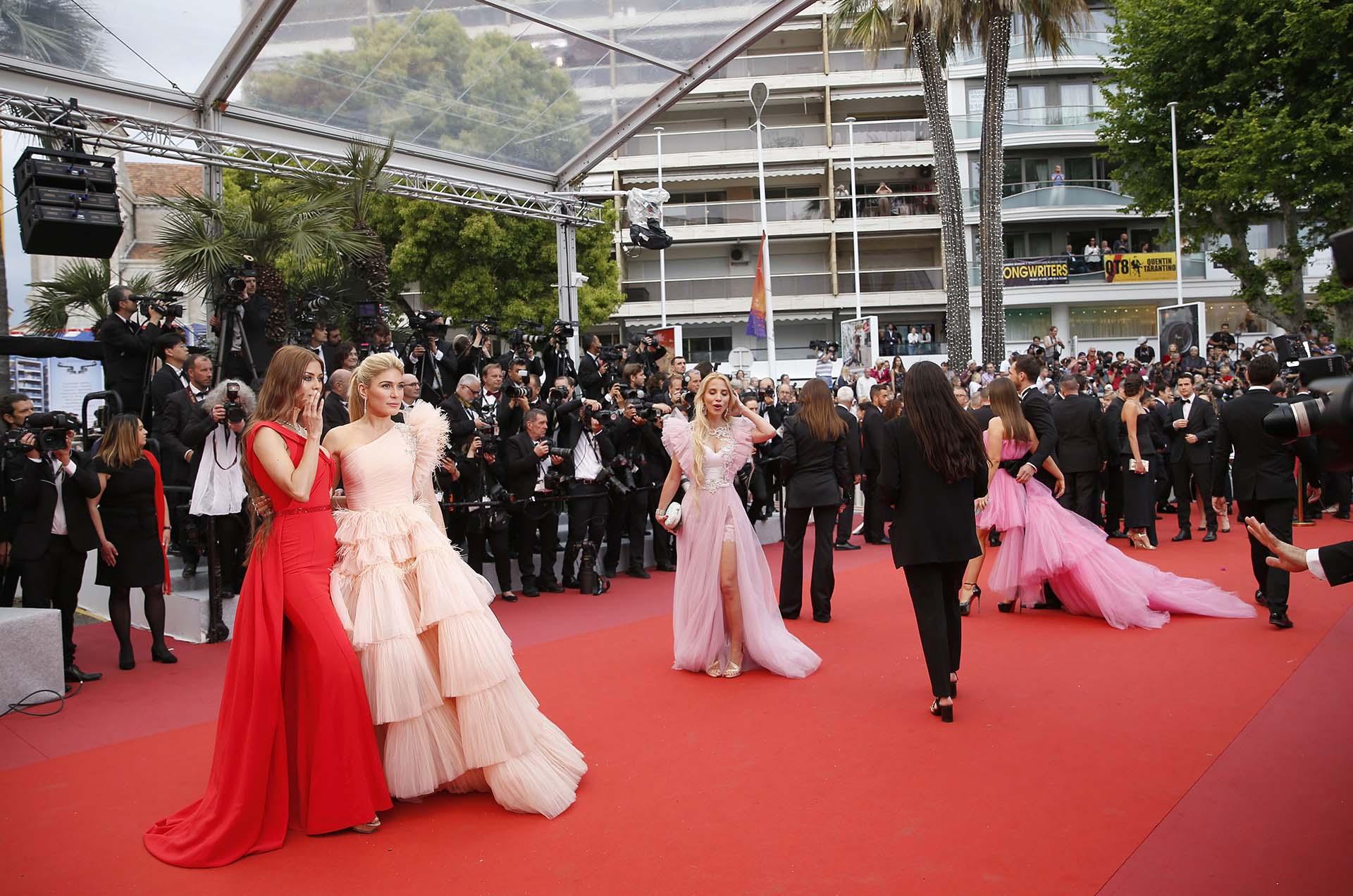 Muchas estrellas formaron parte del ceremonia inaugural de Cannes 2019
