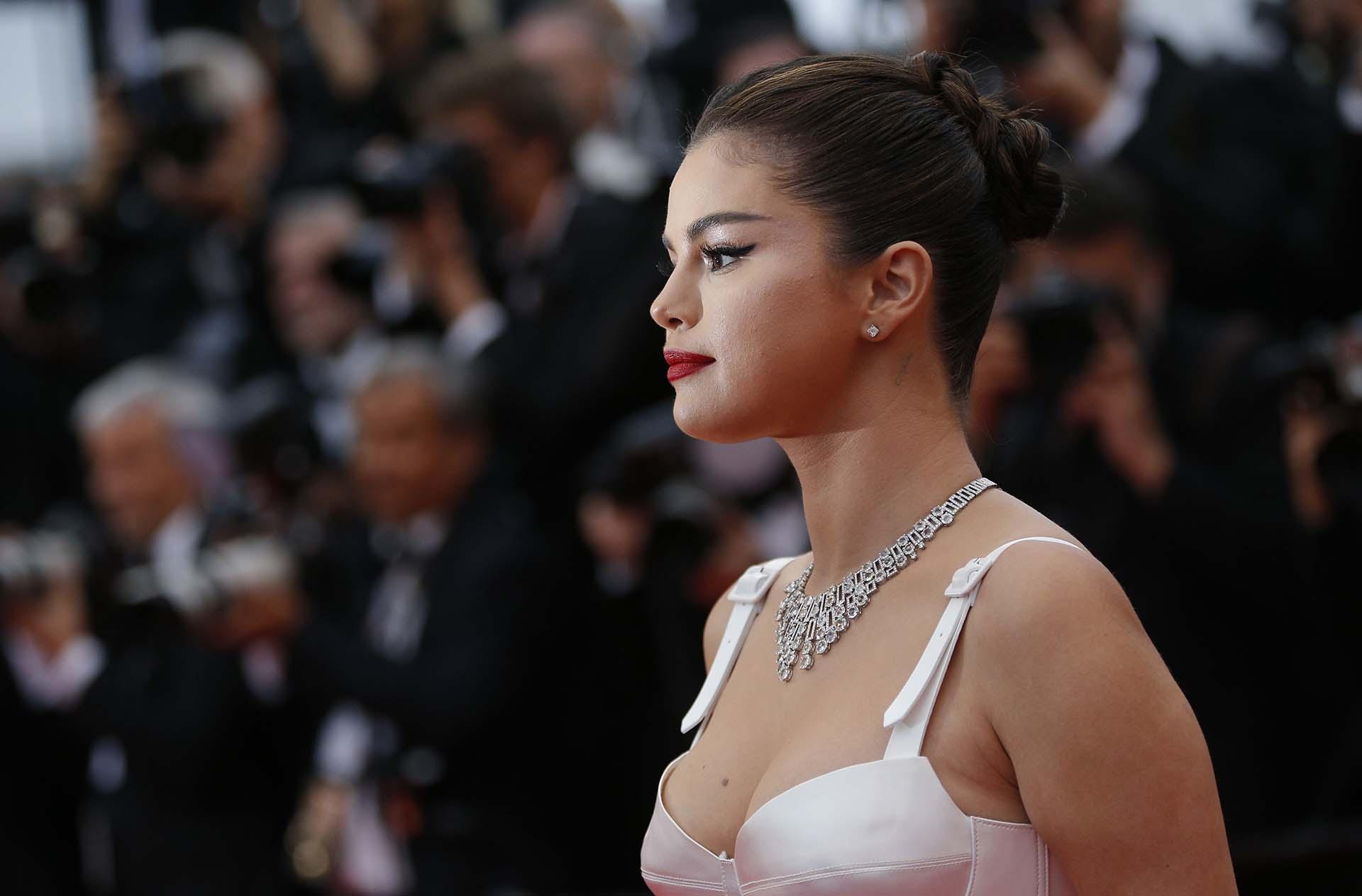 """Selena Gomez en la ceremonia de apertura y proyección de la película """"The Dead Don't Die"""" en competencia por la Palma de Oro"""