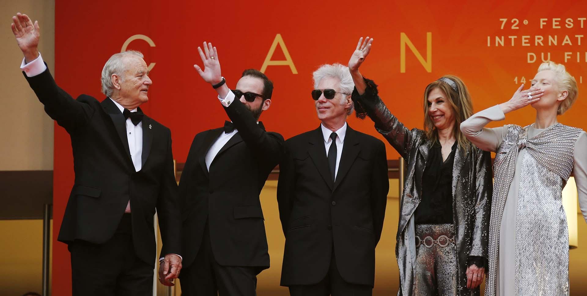 """El elenco y director de """"The Dead Don't Die""""que compite por la Palma de Oro en Cannes 2019"""