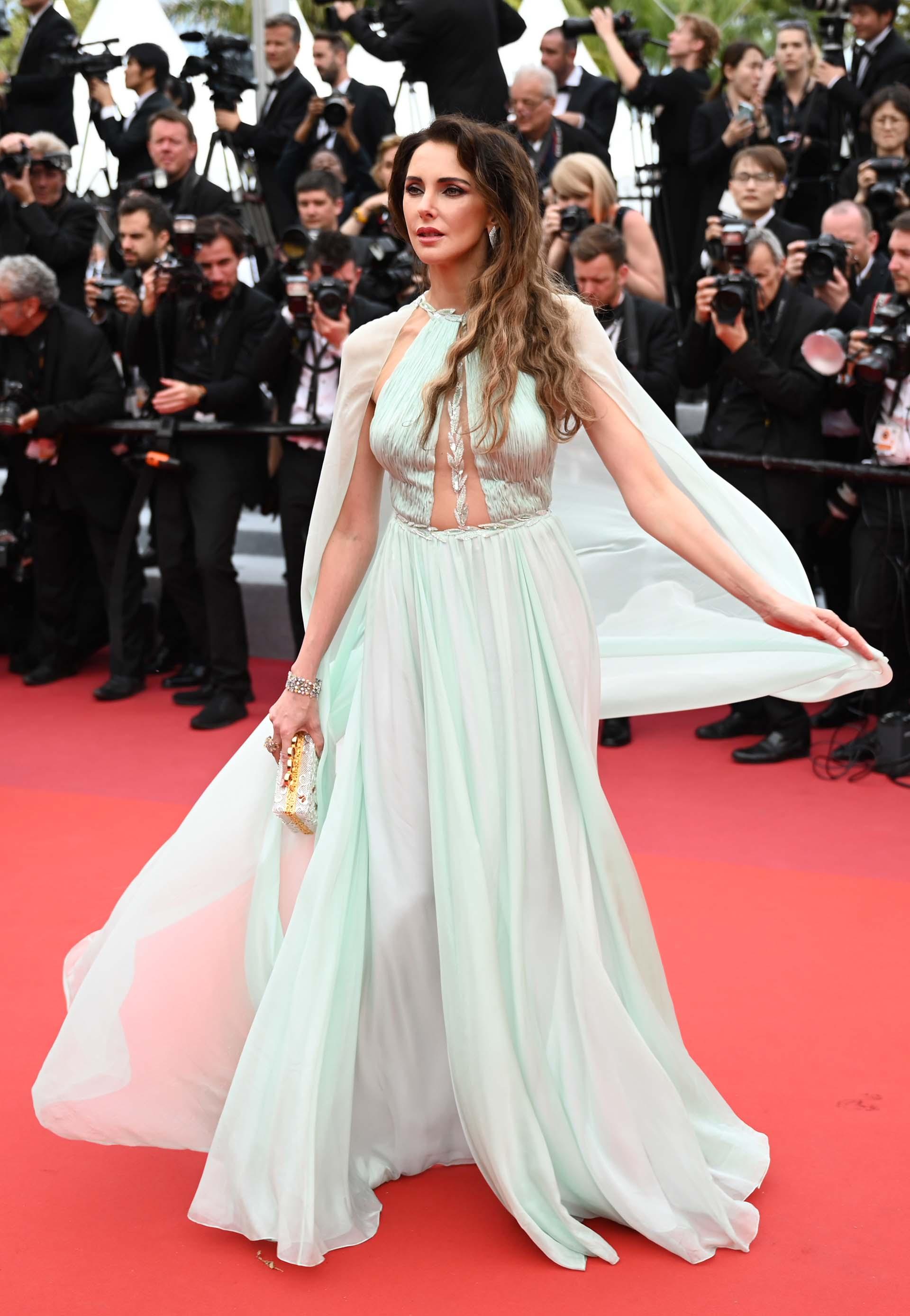 La actriz francesa Frederique Bel