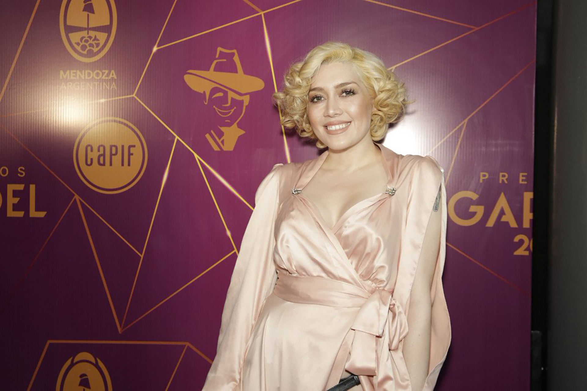 Milita Bora (Foto: @PremiosGardel)