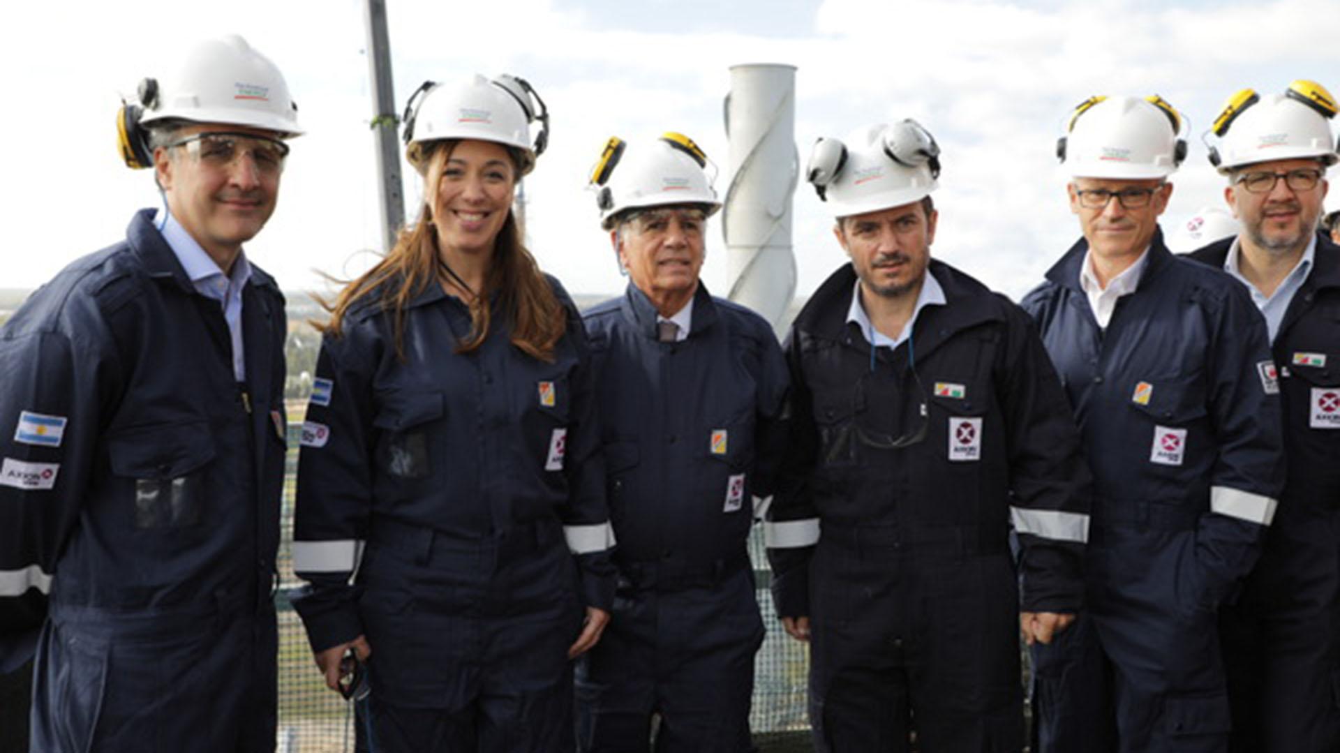 Marcos Bulgheroni, Maria Eugenia Vidal y Alejandro Bulgheroni