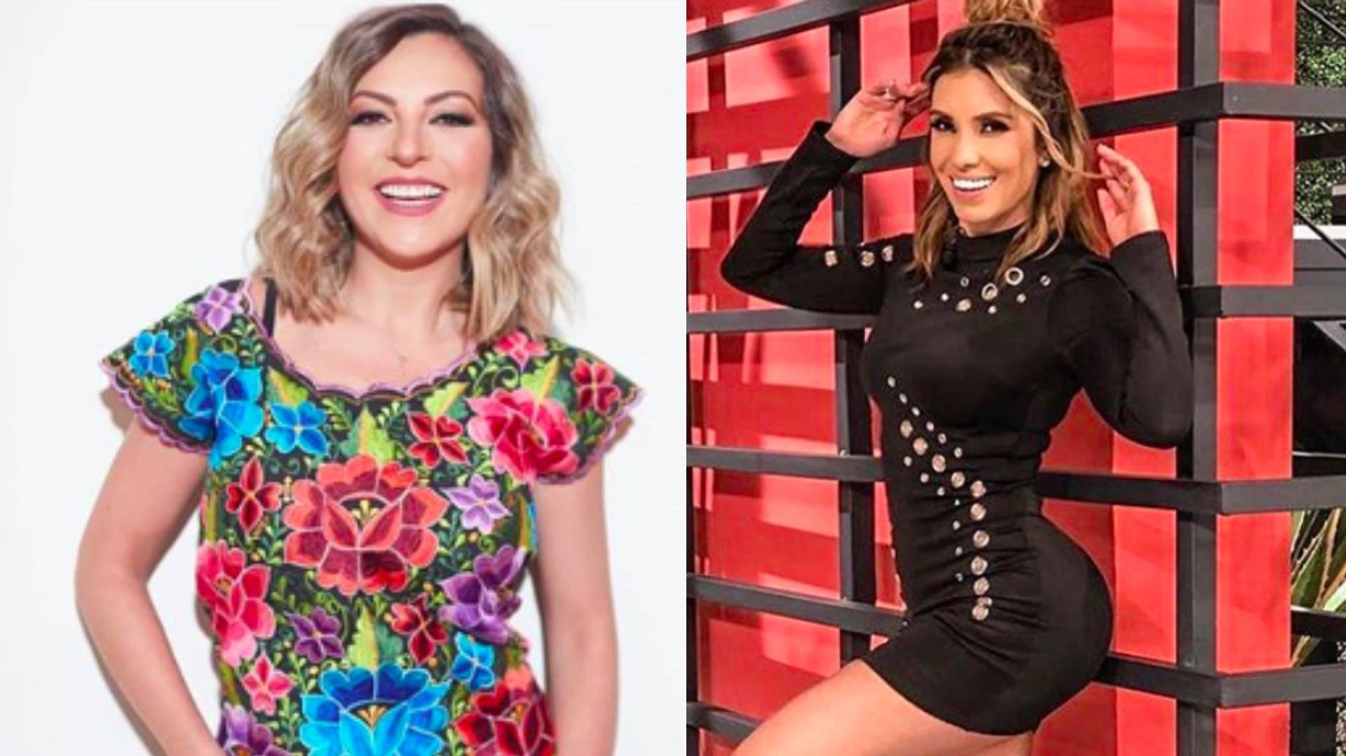 Mariana Ochoa y Andrea Escalona conocieron a fondo al divertido presentador (Foto: Instagram)