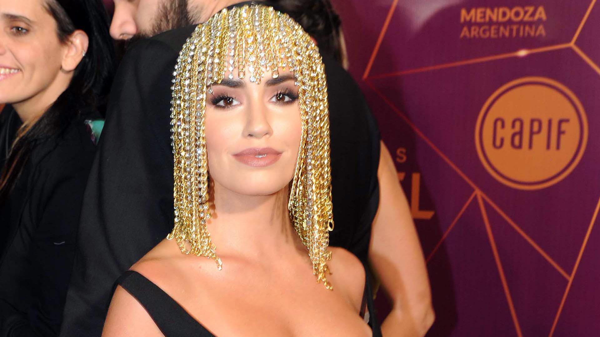 Lali Espósito en los Premios Gardel 2019 (Foto: Télam)