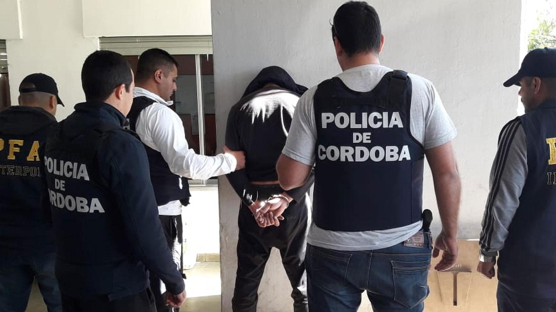 Detención del prófugo en Córdoba