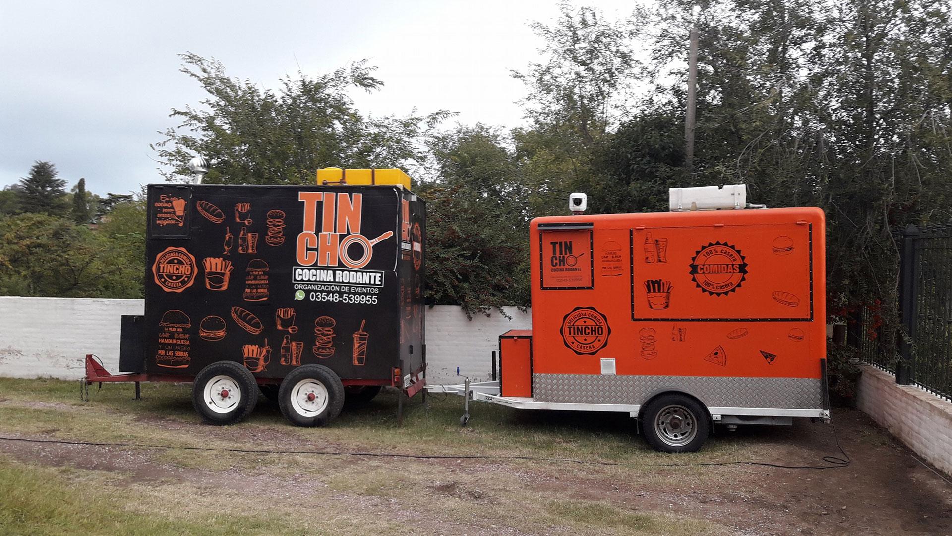 Food truck del detenido (Facebook)