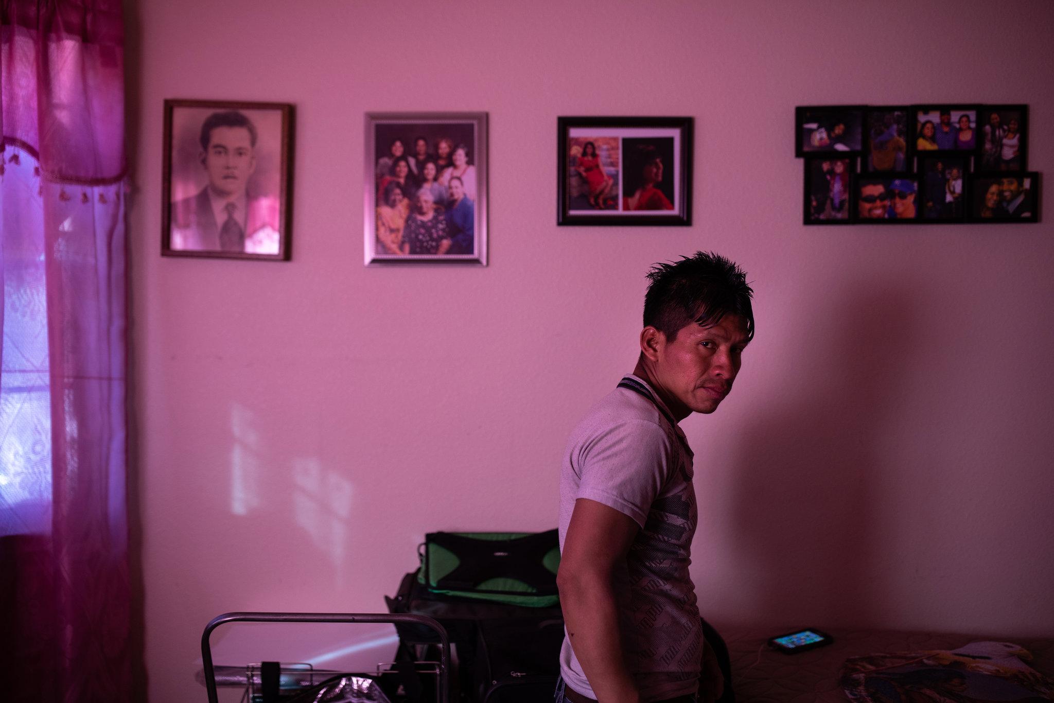 Pablo en Nuevo México (Tamir Kalifa para The New York Times)