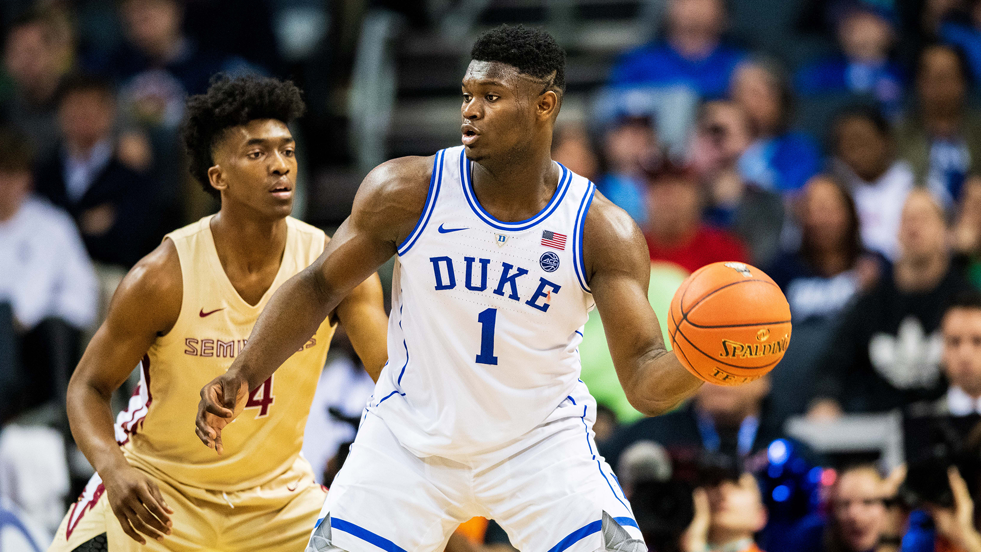 Zion Williamson, candidato a ser elegido número 1 en el Draft de la NBA