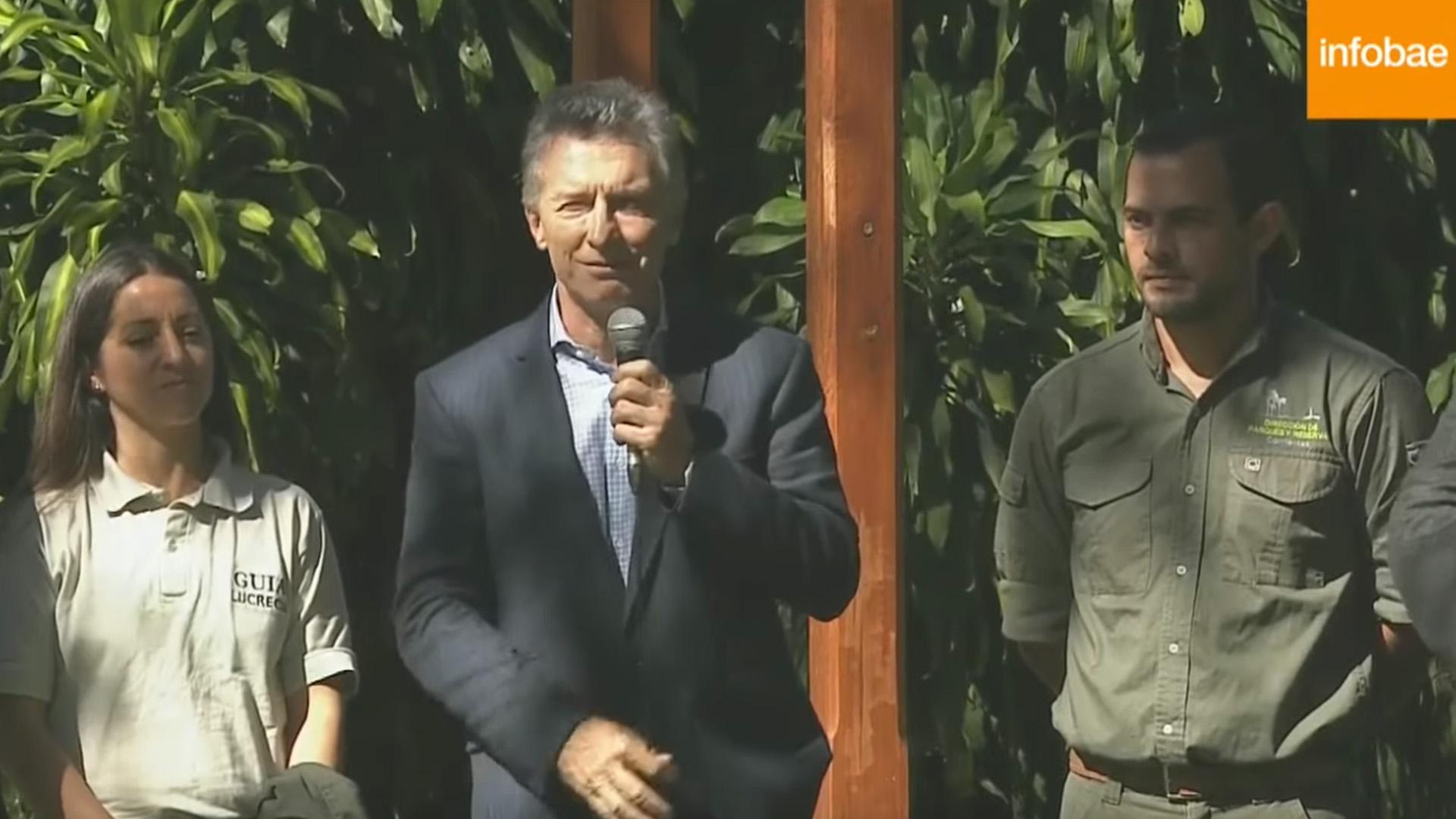 El Jefe de Estado visitó el Parque Ecoturístico Iberá