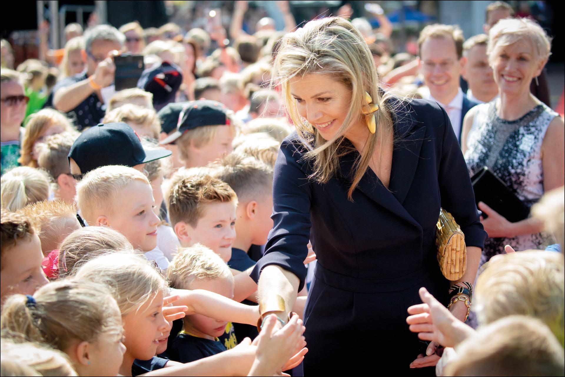 A punto de cumplir 48 años, la reina Máxima de Holanda es respetada por su pueblo.