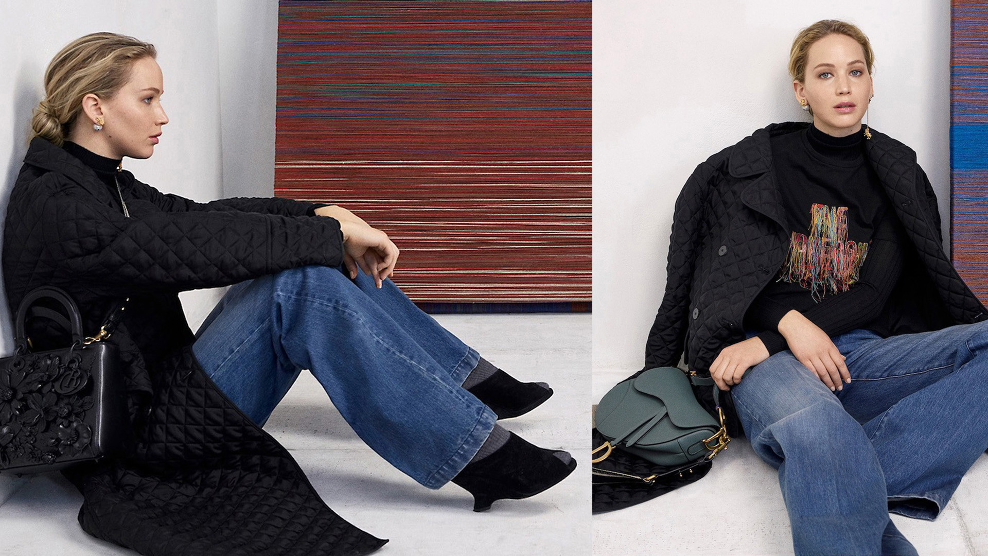 En la nueva campaña, Dior presenta su itbag 2019.