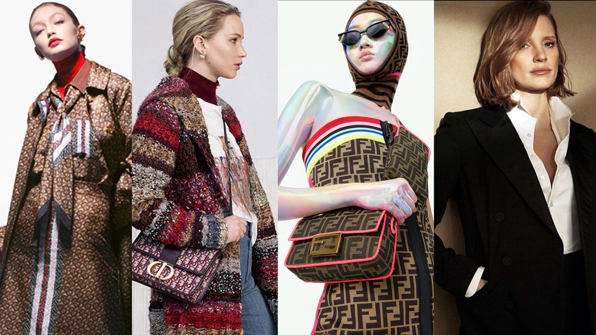 Burberry, Dior, Fendi y Ralph Lauren presentaron propuestas muy originales y transgresoras.