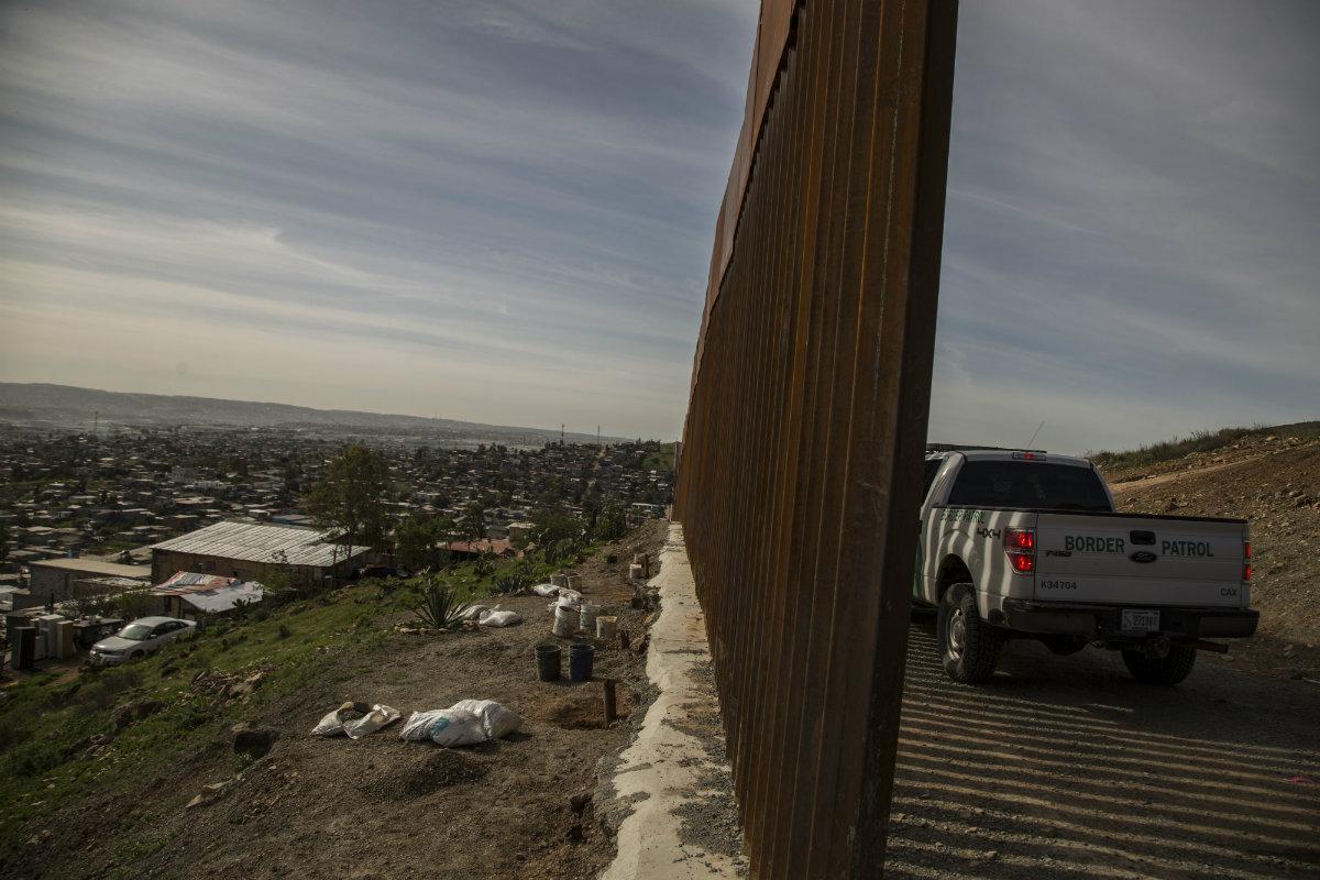Frontera EEUU-México (Foto: Cuartoscuro)