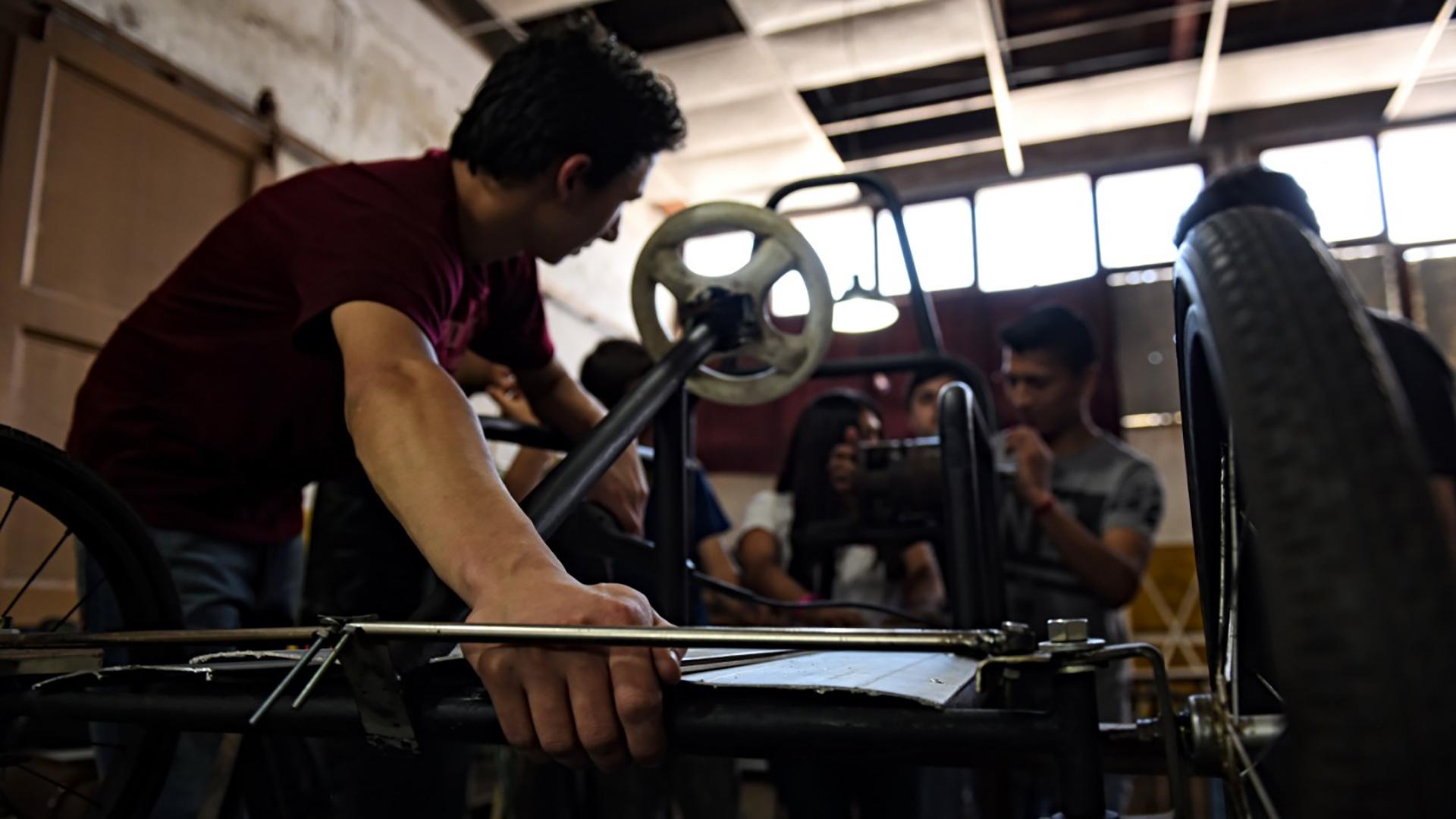 Un curso de formación profesional en la provincia de Buenos Aires