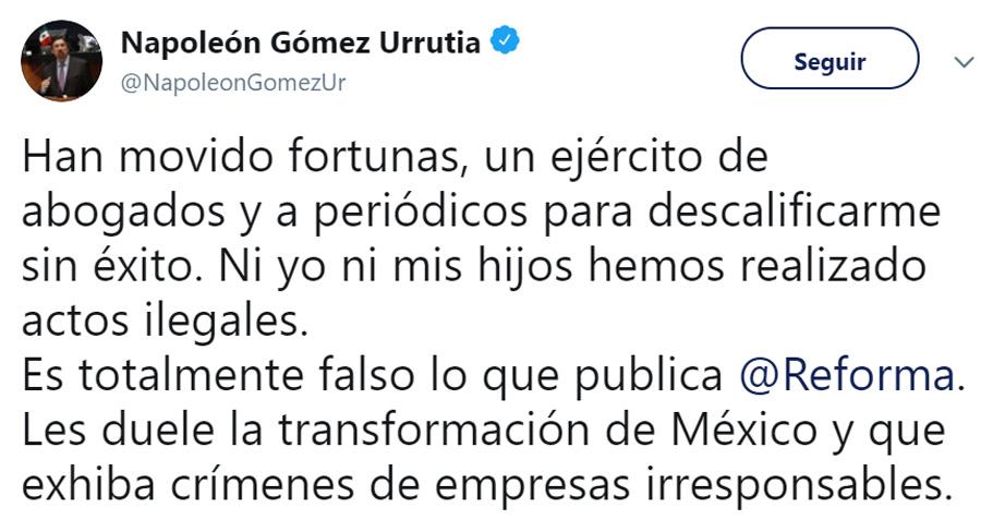 a Gómez Casso le gusta presumir la vida que se da (Foto: Twitter/NapoleonGomezUr)