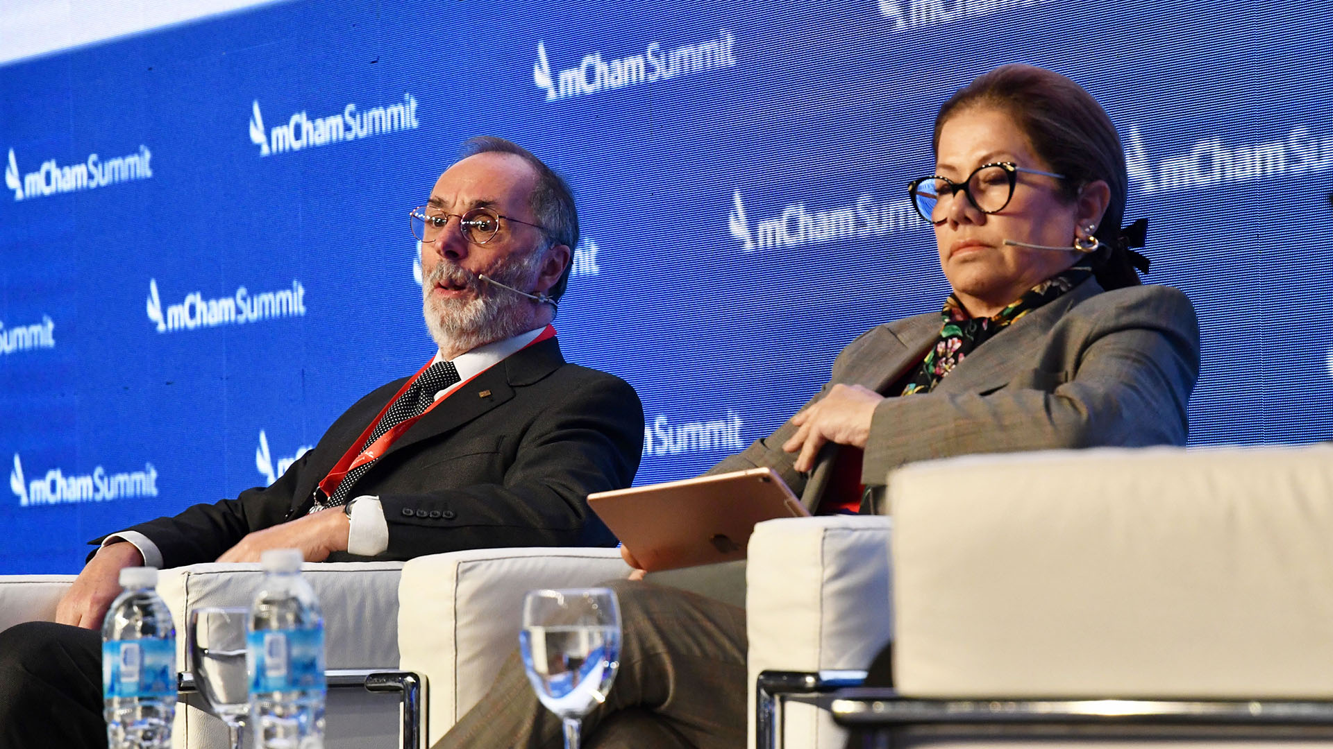 Los diputados Pablo Tonelli y Graciela Camaño