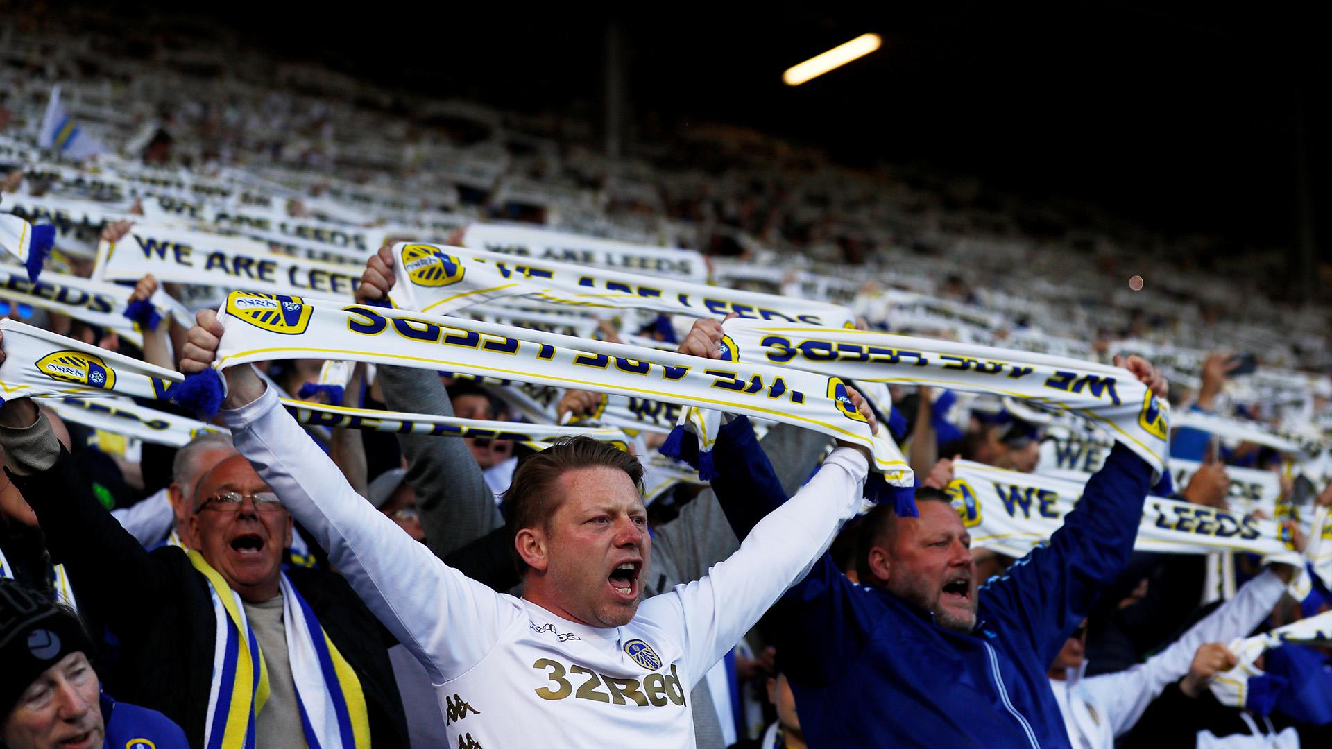 Impactante marco en Elland Road: el Leeds quiere volver a la máxima categoría después de 14 años (Reuters/Jason Cairnduff)
