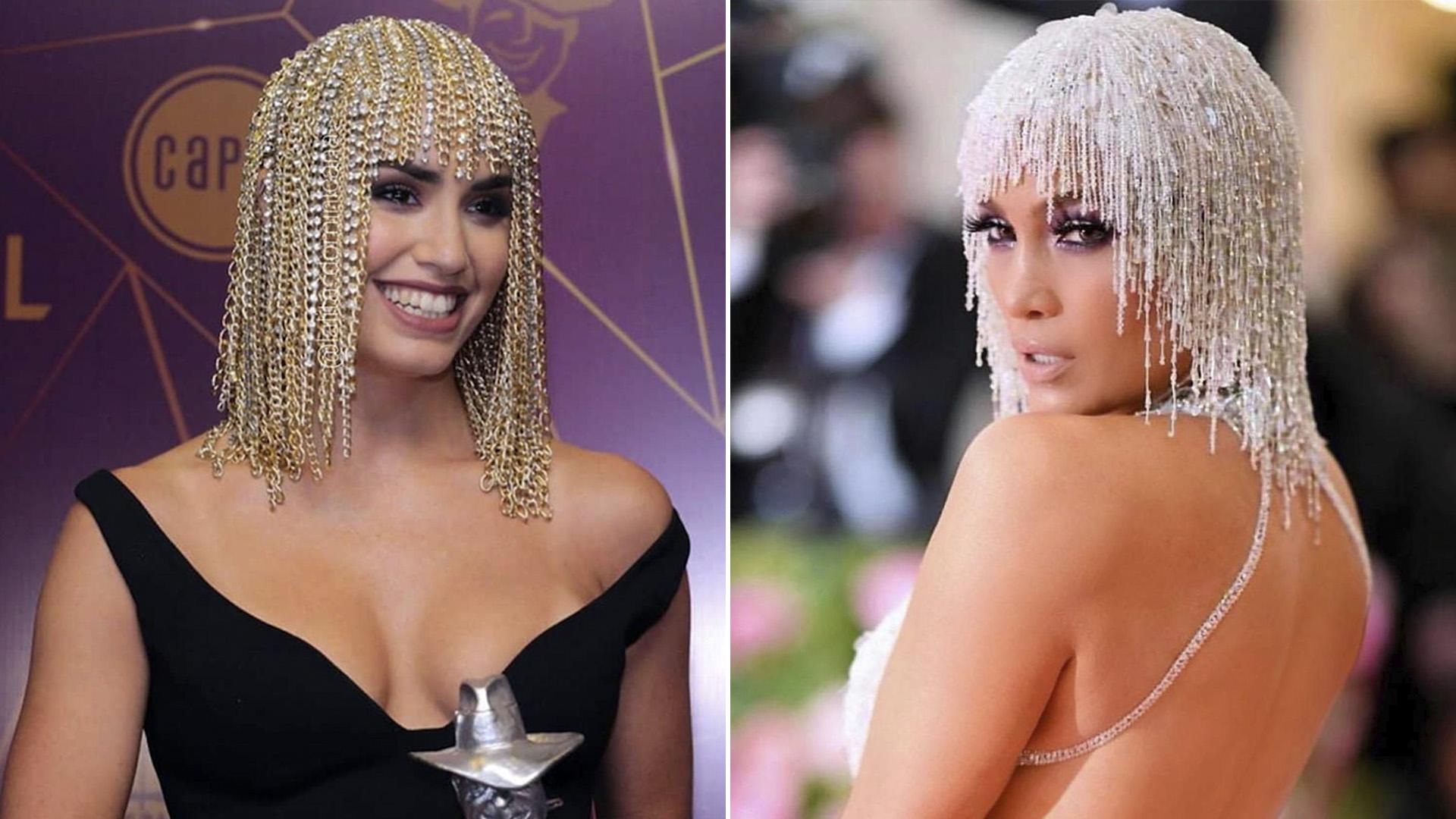 Lali Espósito en los Premios Gardel 2019 y Jennifer Lopez en la MET Gala