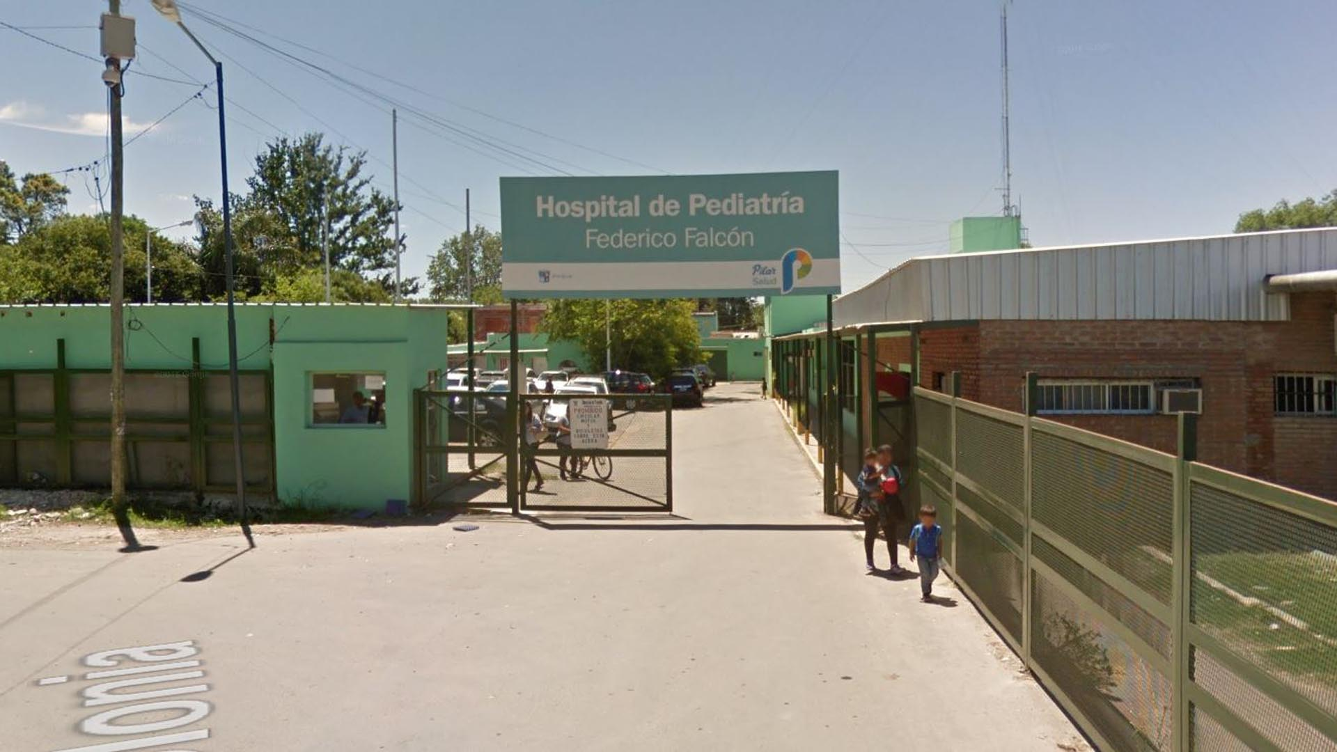 La víctima estuvo internada en el Hospital Falcón de Del Viso