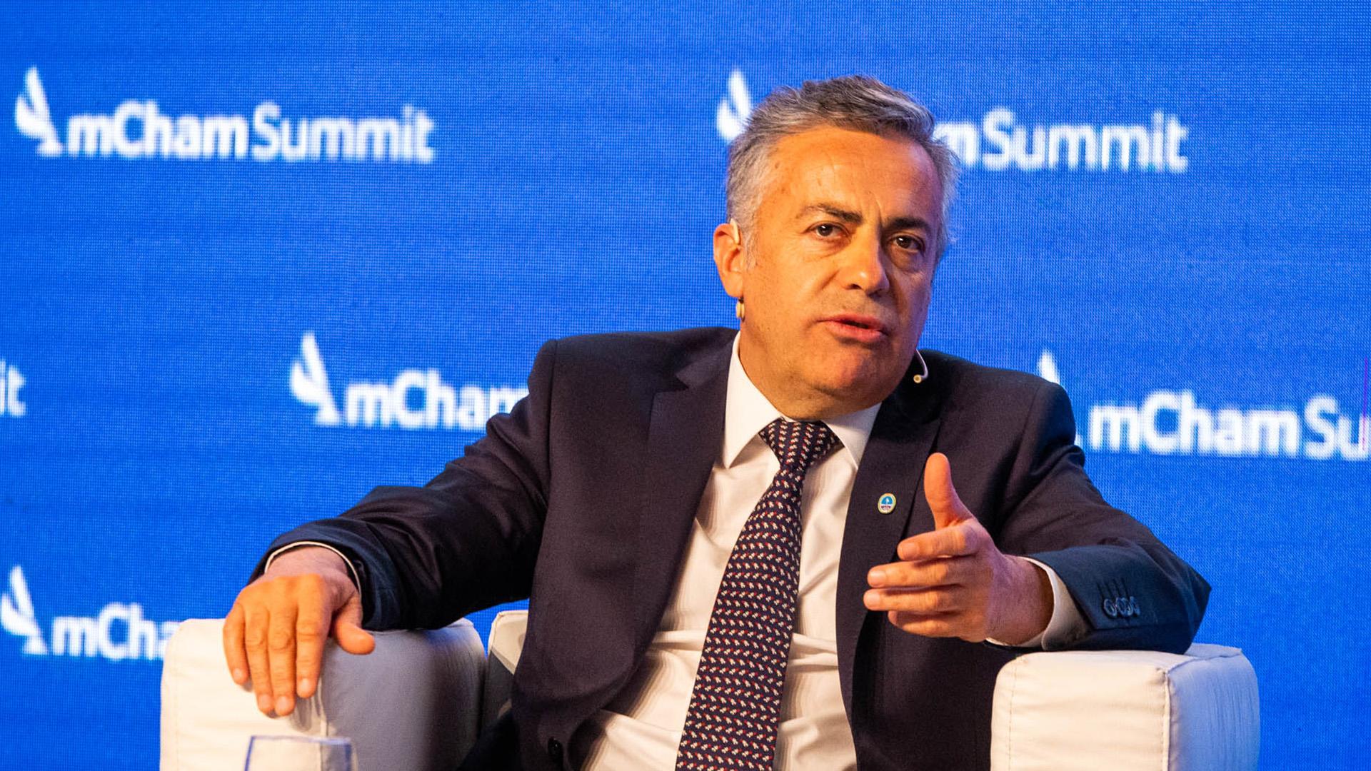 El jefe de la UCR Alfredo Cornejo