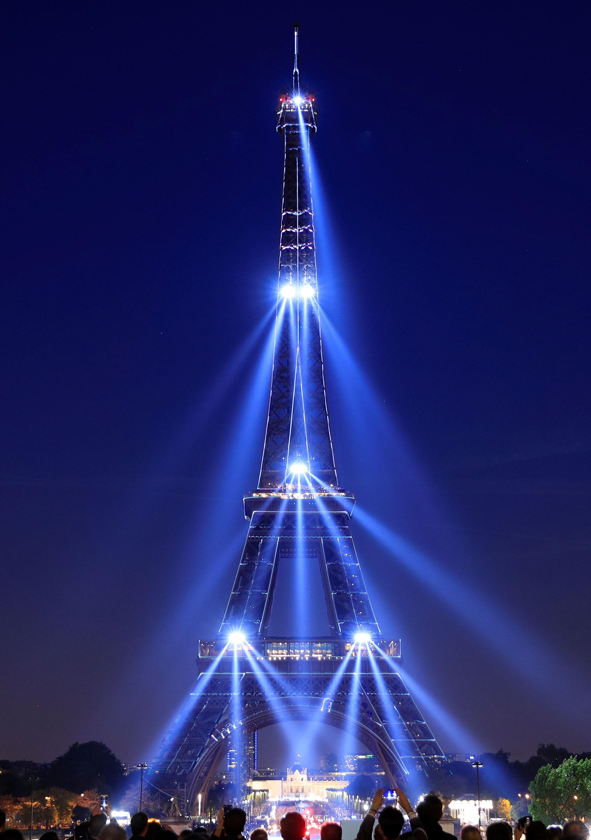 Las celebraciones se vieron ensombrecidas por el reciente y trágico incendio de la Catedral de Notre Dame