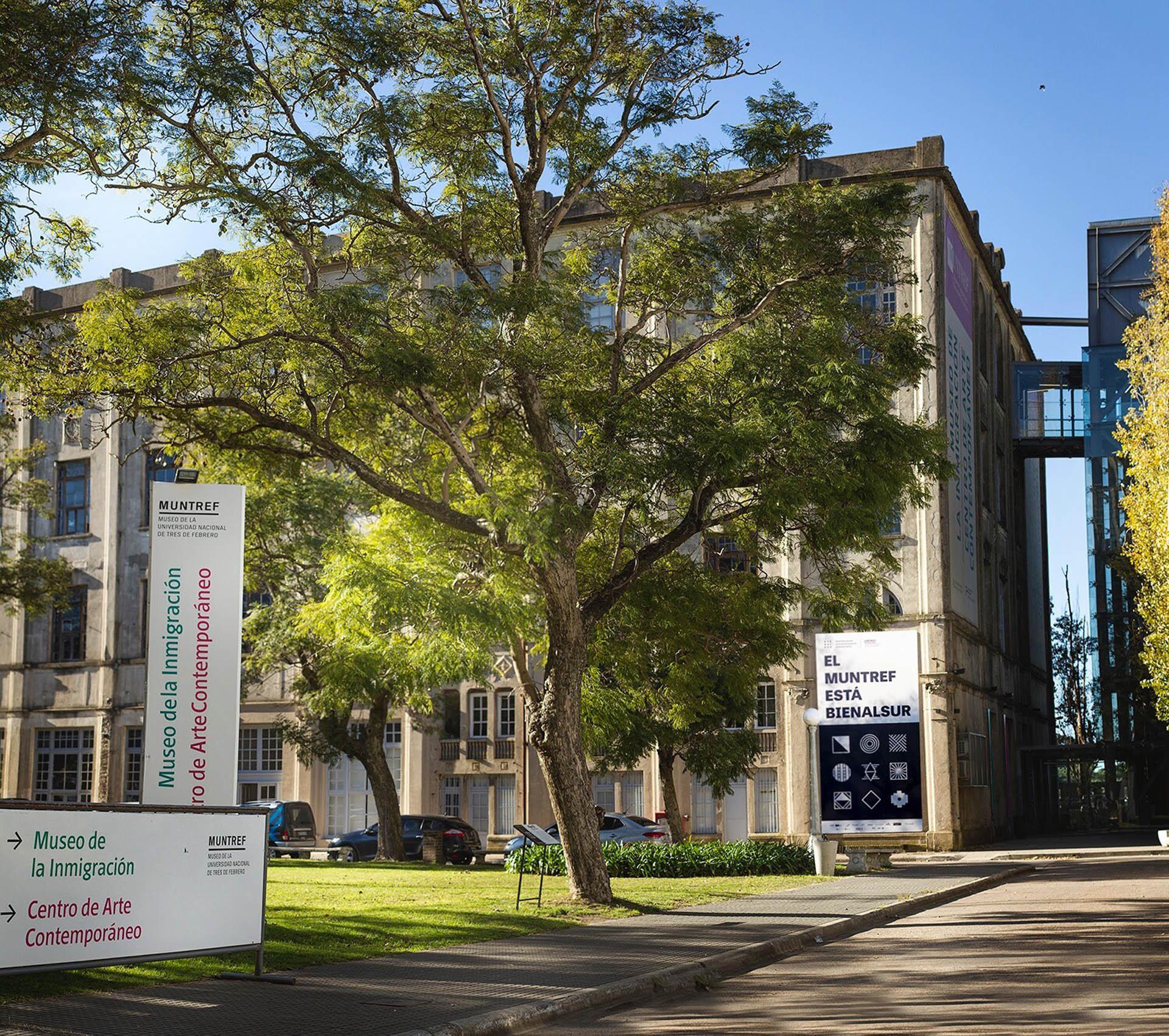 Centro de Arte Contemporaneo y Museo de la Inmigración sede Hotel de Inmigrantes(UNTEF Media- BIENALSUR)