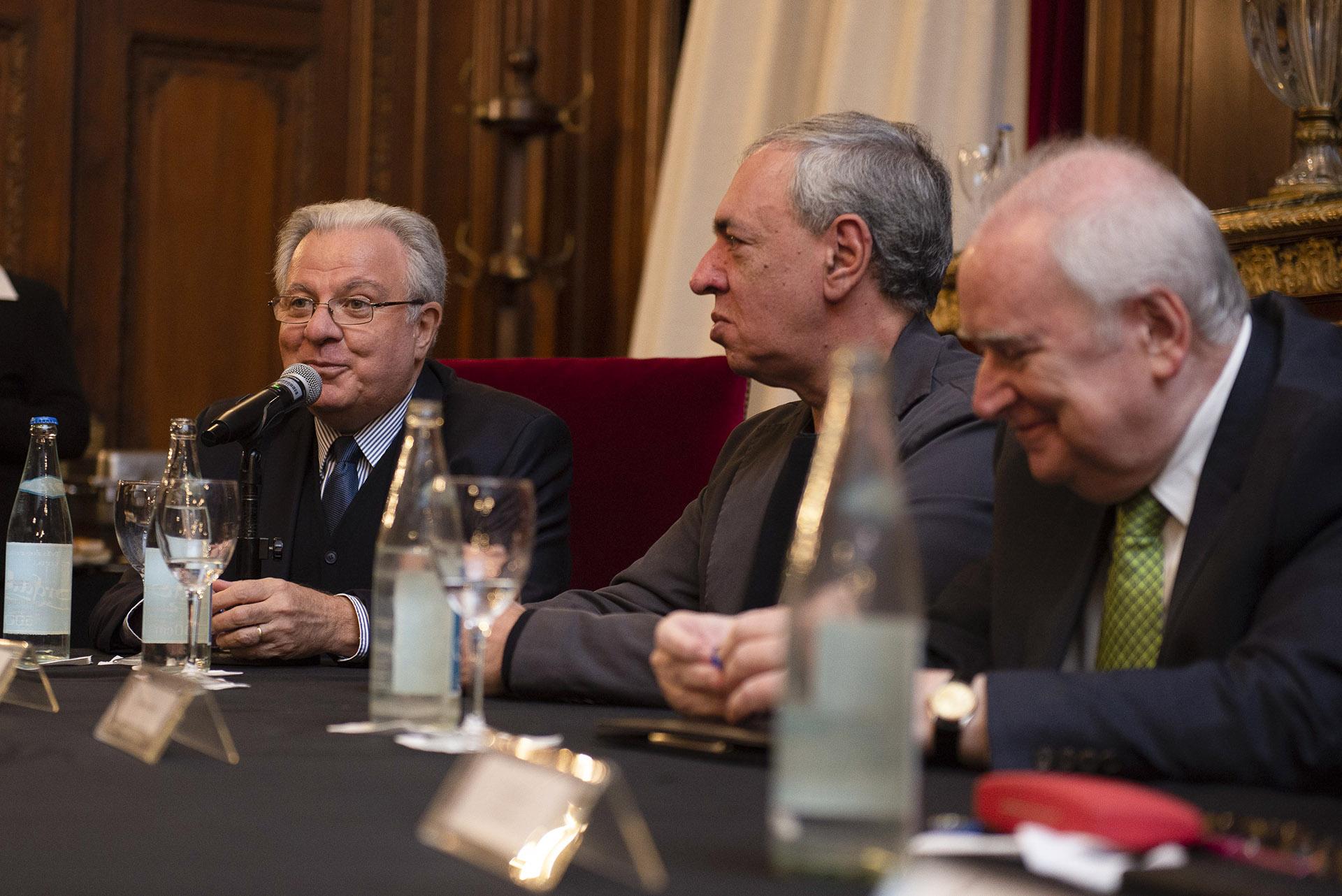 Alberto Barbieri, rector de la Universidad de Buenos Aires