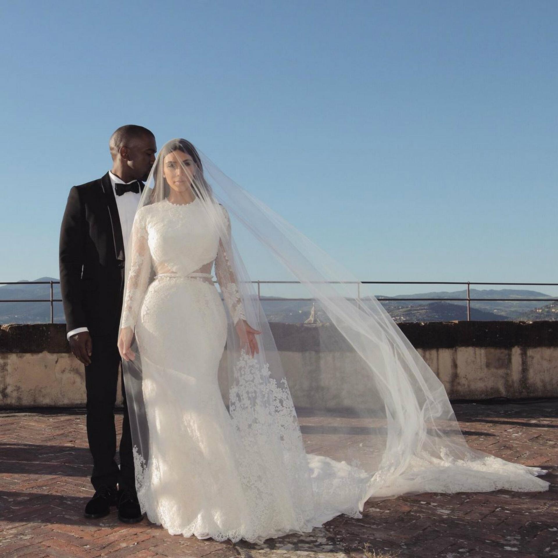 Kim y Kanye se casaron en la ciudad donde concibieron a su hija North (Instagram: kimkardashian)
