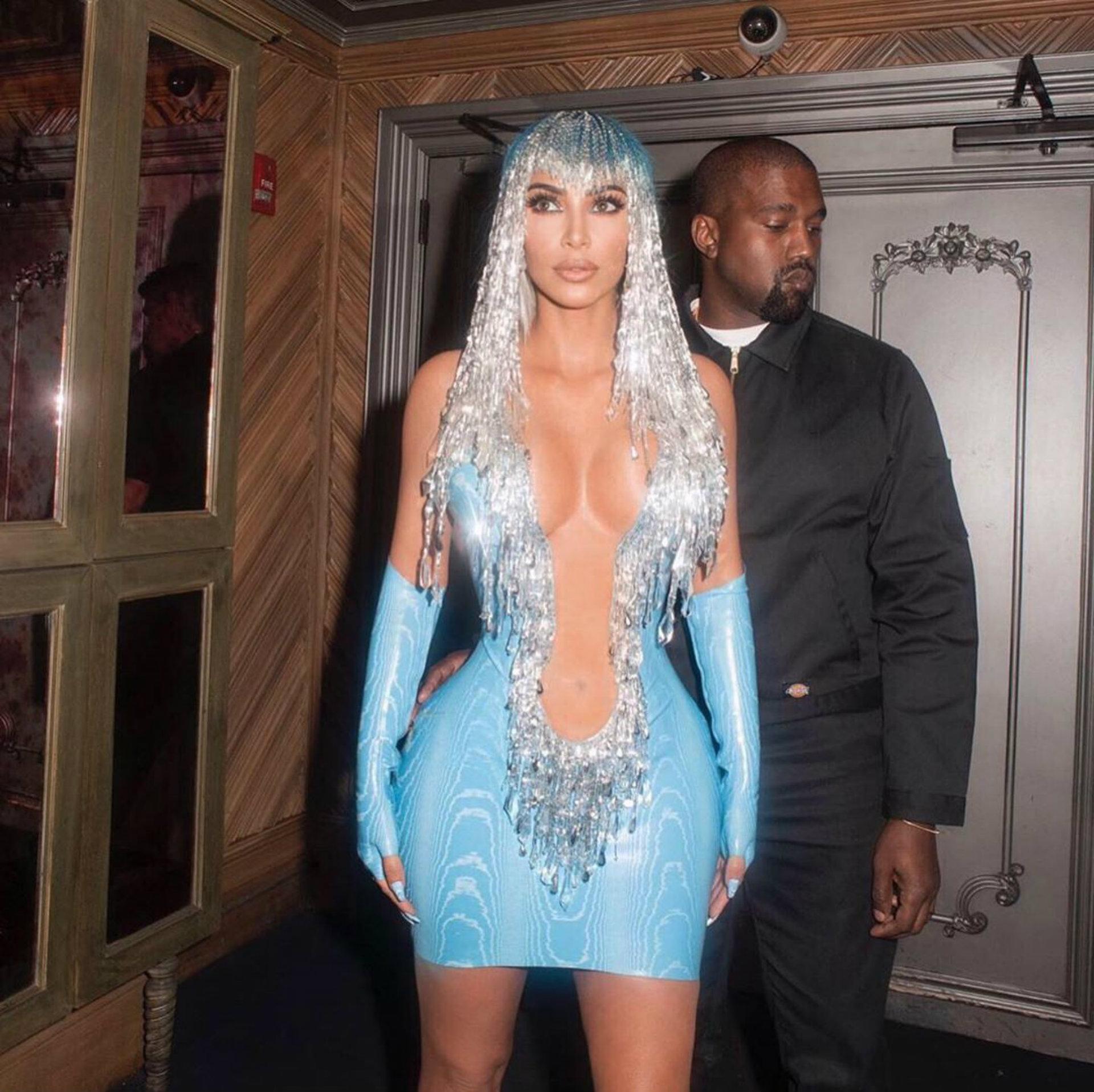 Kim y Kanye se conocieron hace más de 15 años (Instagram: kimkardashian)