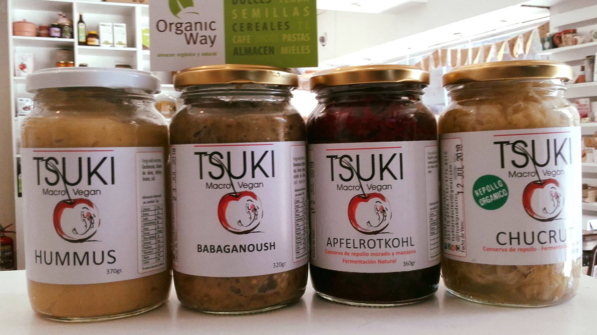 La marca fabricante Tsuki no tenía en regla las normas sanitarias para la elaboración de productos (Facebook)