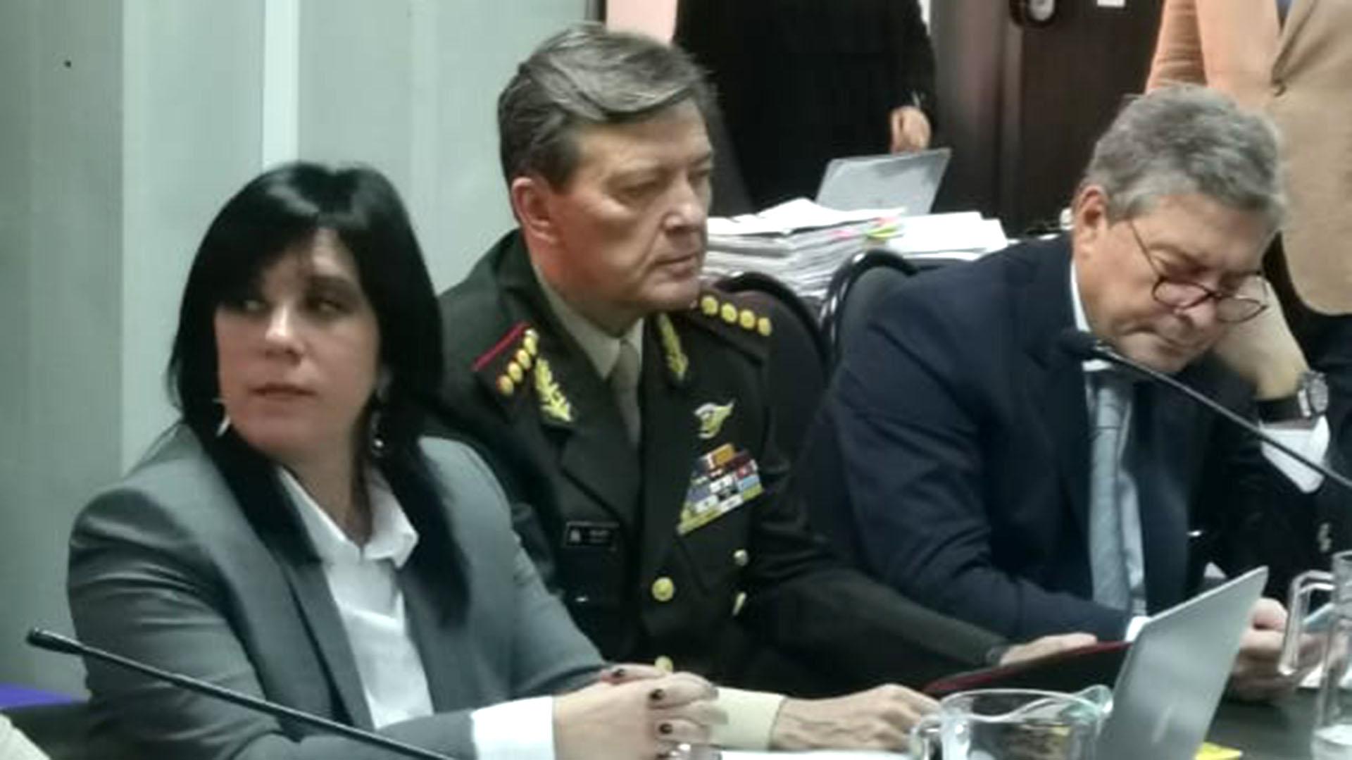 César Milani declara en el juicio por secuestros y torturas durante la dictadura