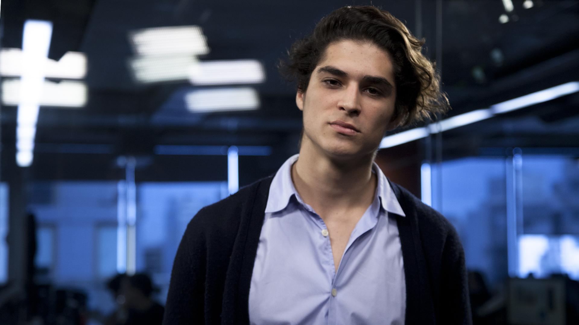 Gerónimo Maspero, emprendedor tecnológico de 21 años (Crédito: Santiago Saferstein)