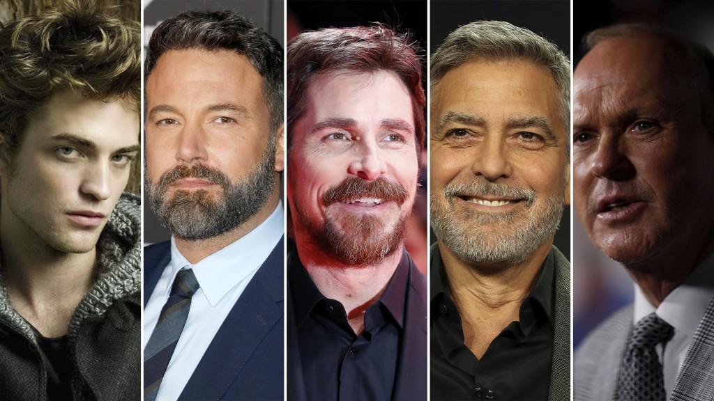 Robert Pattinson - Ben Affleck - Christian Bale - George Clooney - Michael Keaton