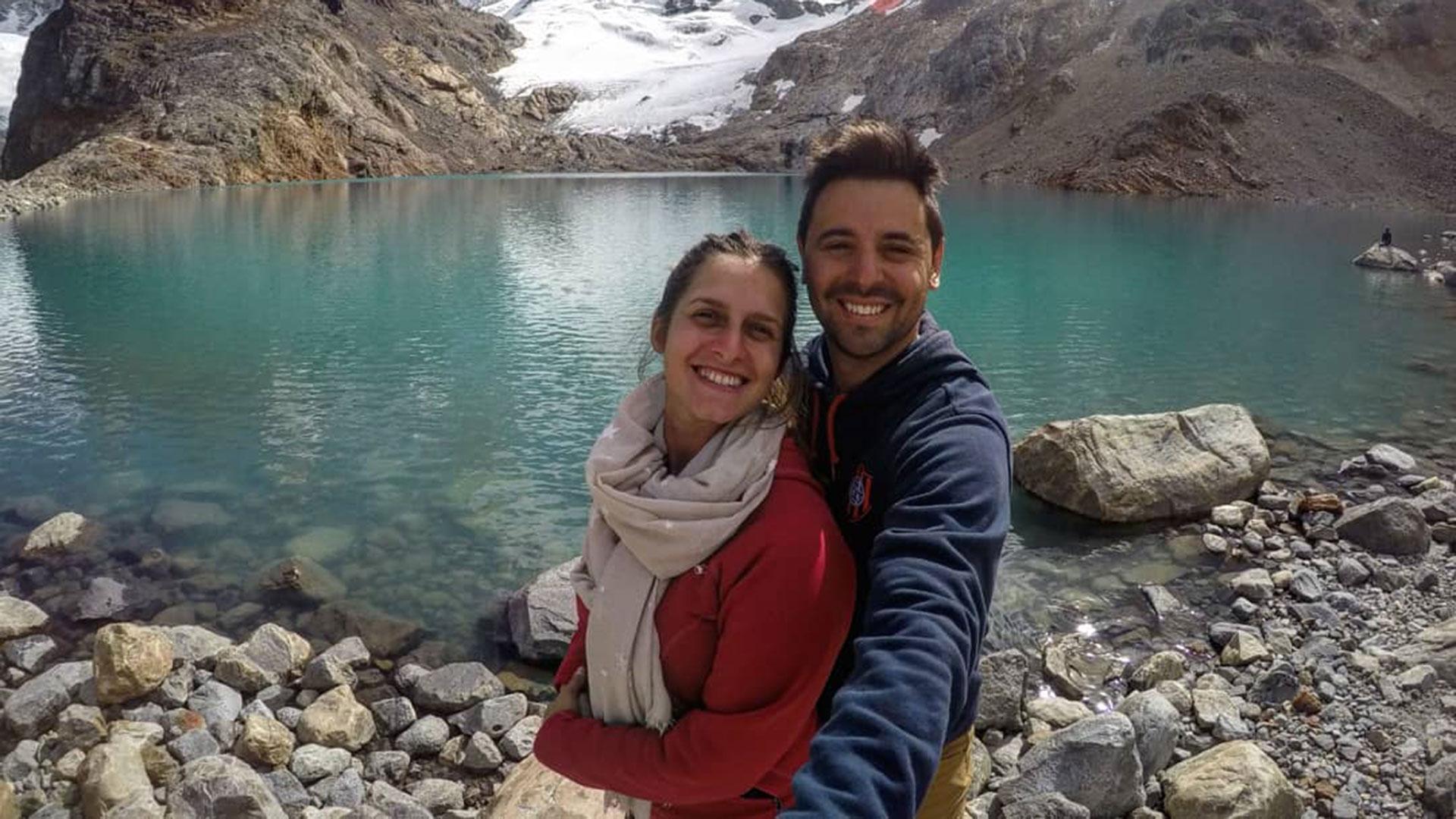 Micaela y Damián, dos cuervos por la ruta