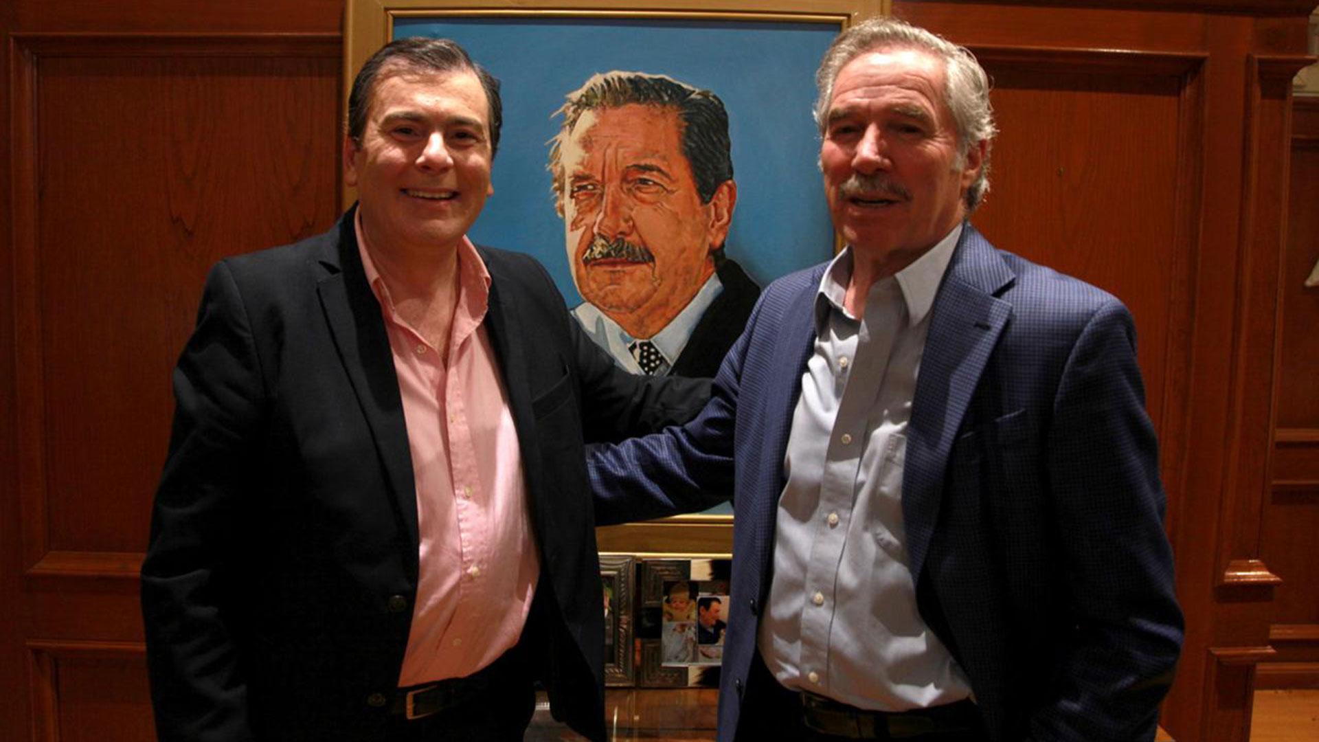 Gerardo Zamora con Felipe Solá en la provincia de Santiago del Estero