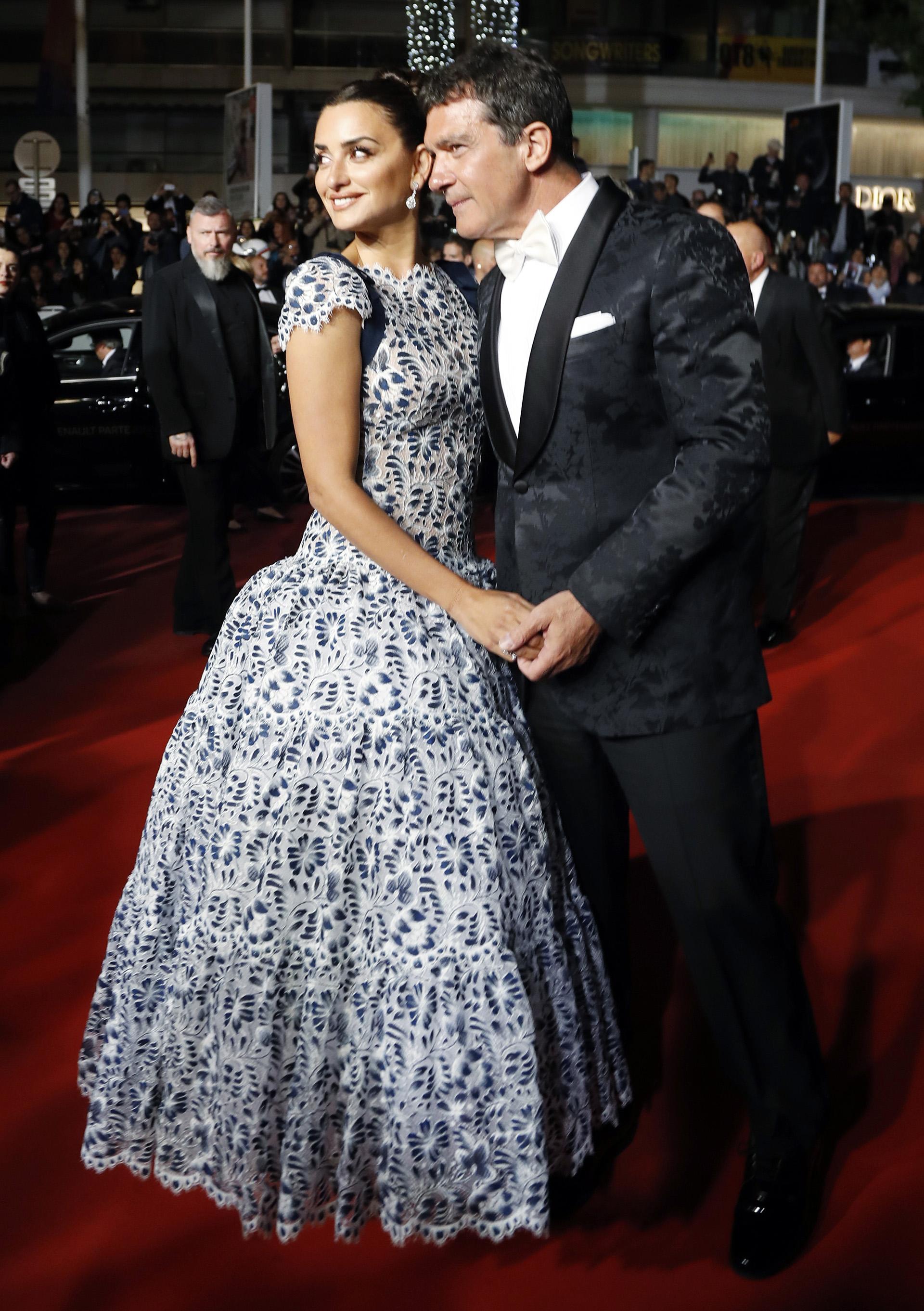 La pareja de la noche: Antonio Banderas y Penélope Cruz, los más esperados en la red carpet de Cannes