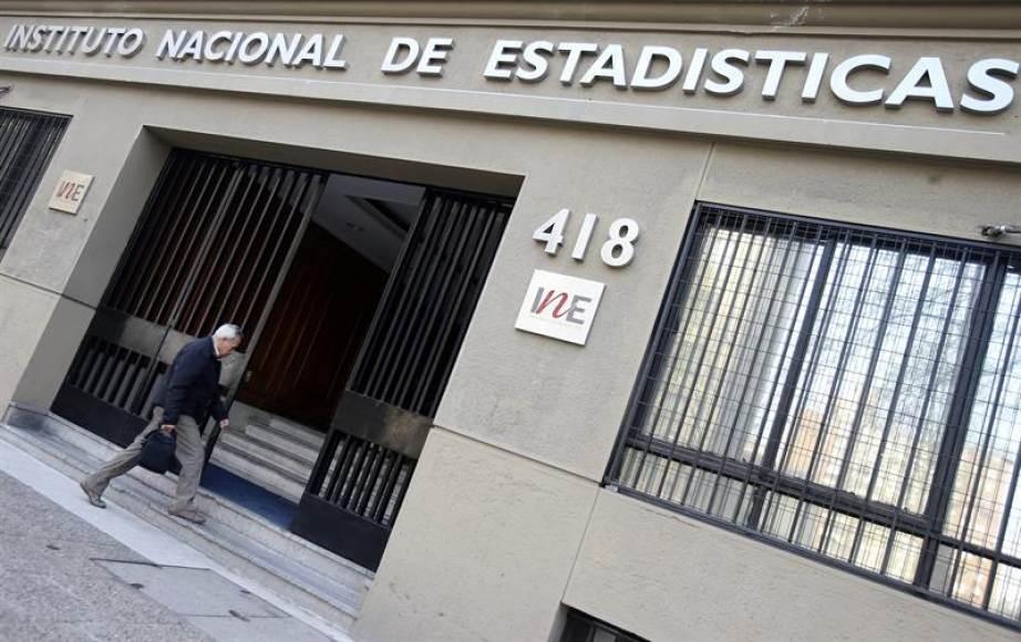 Fachada del Instituto Nacional de Estadística de Chile (EFE/archivo)