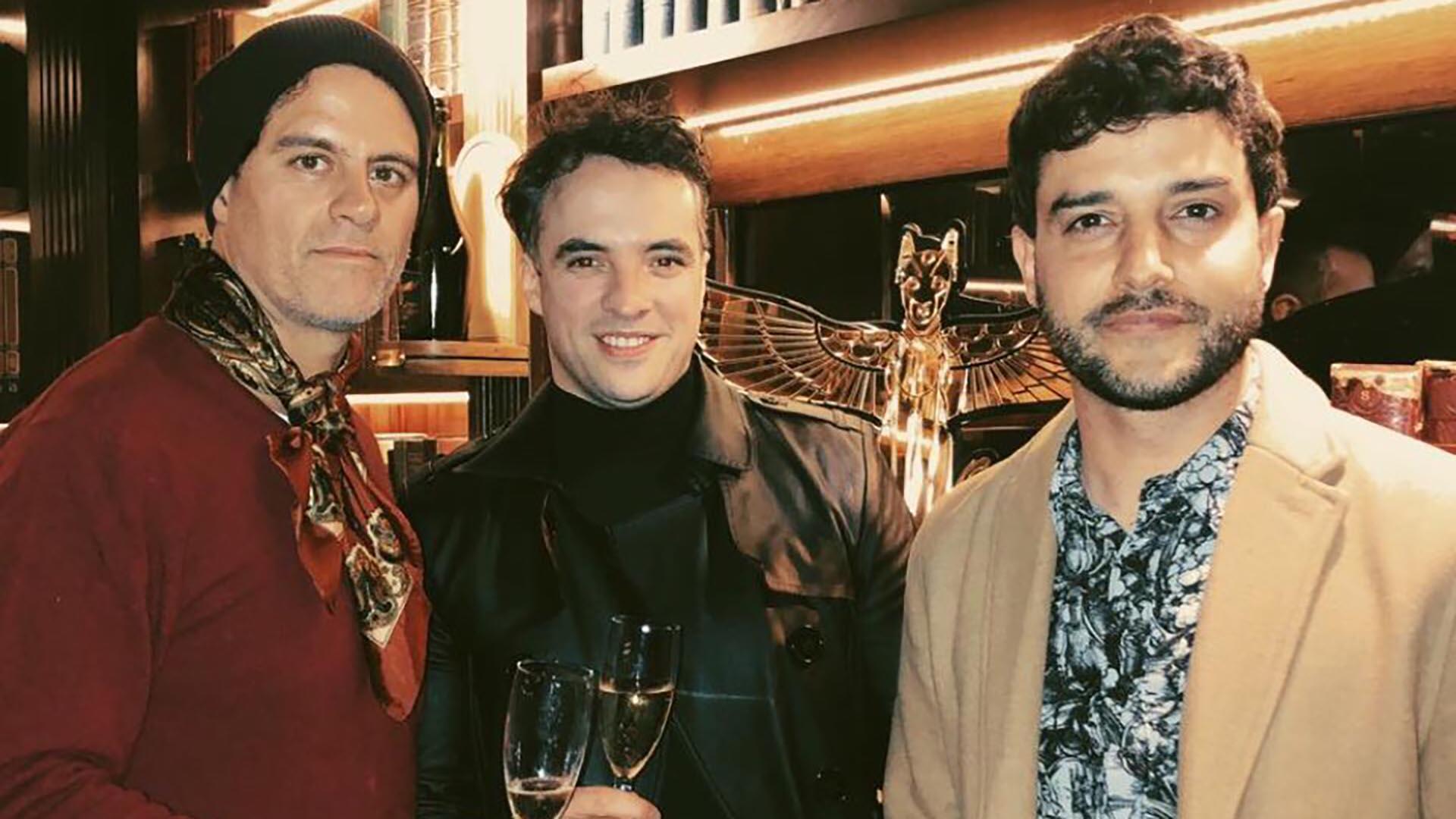 Mike Amigorena, Mariano Marquevich y Fran Larguía