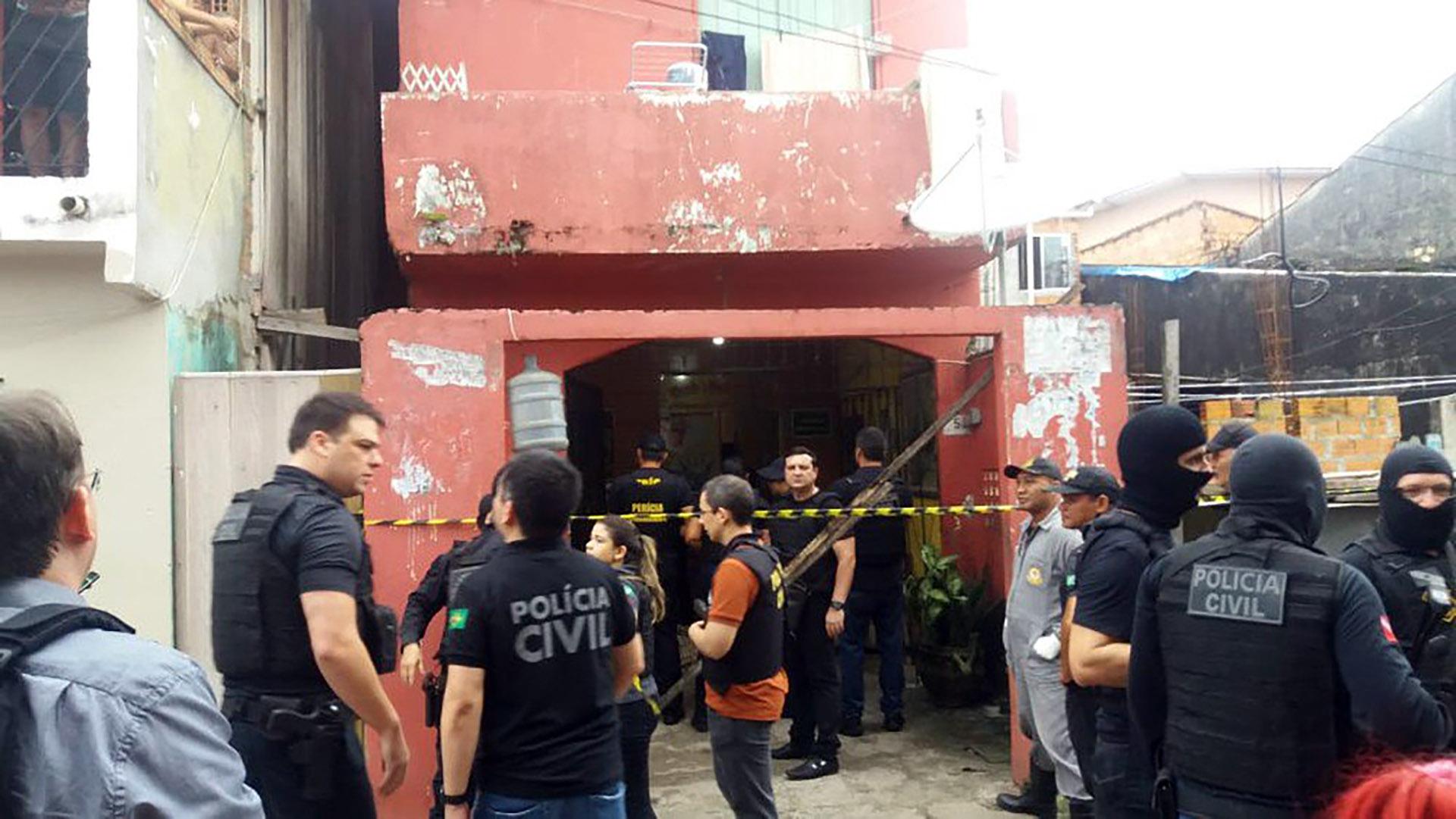 La policía investiga las causas del ataque armado (Jalilia Messias)