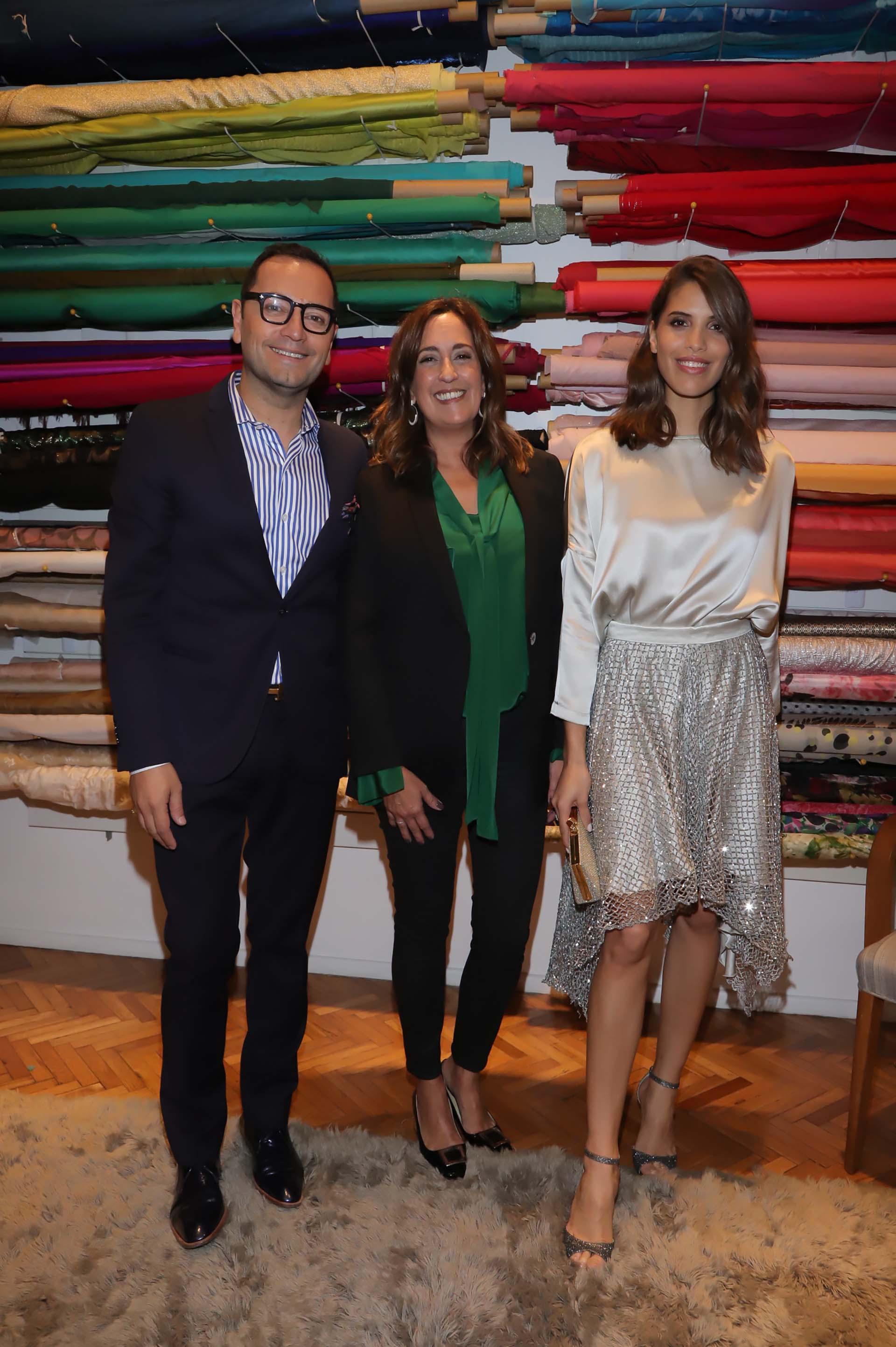 Fabián Medina Flores, Pía Carregal y Taína Laurino Ferreira