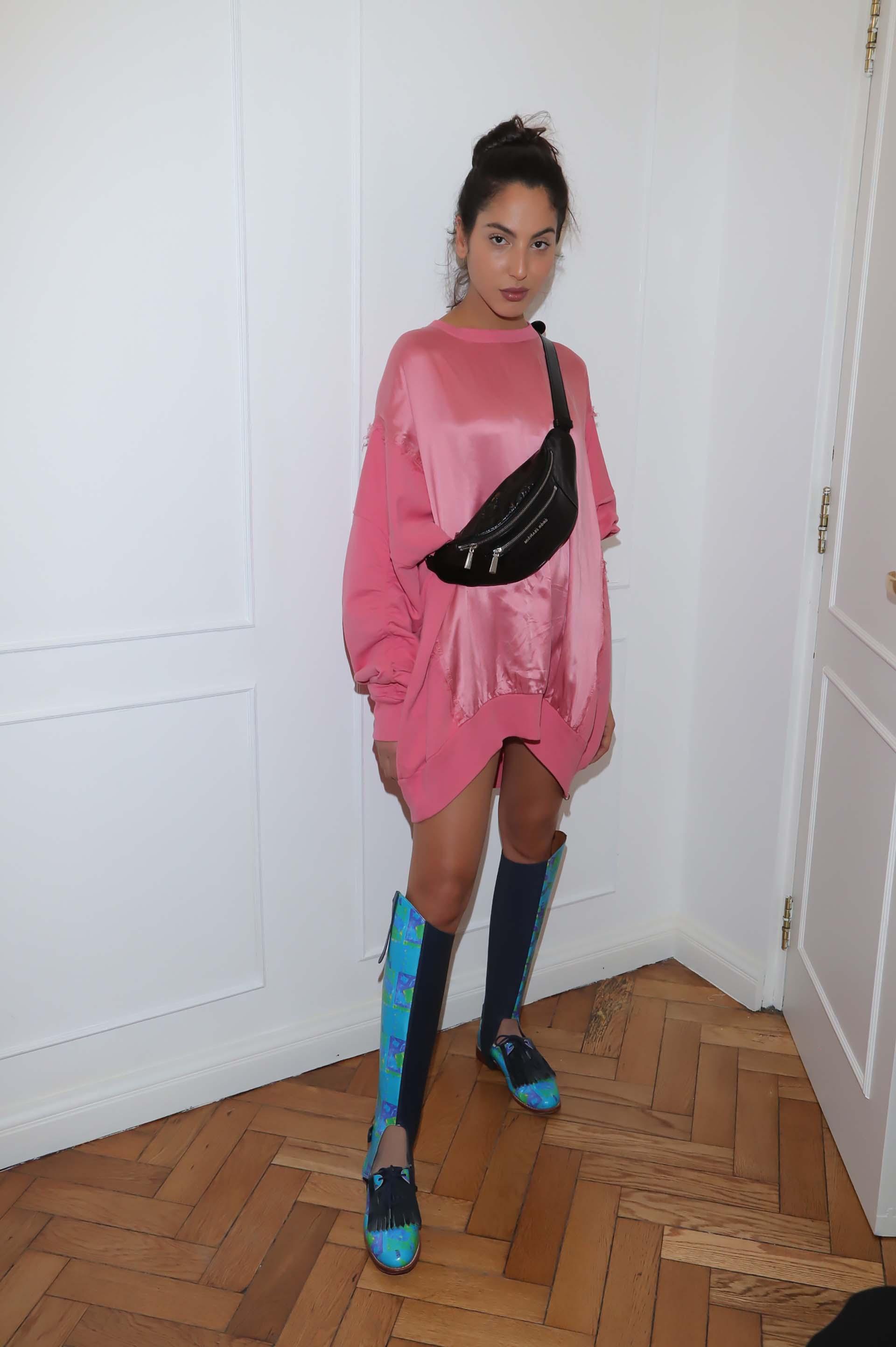 La modelo Alexia Toumikian