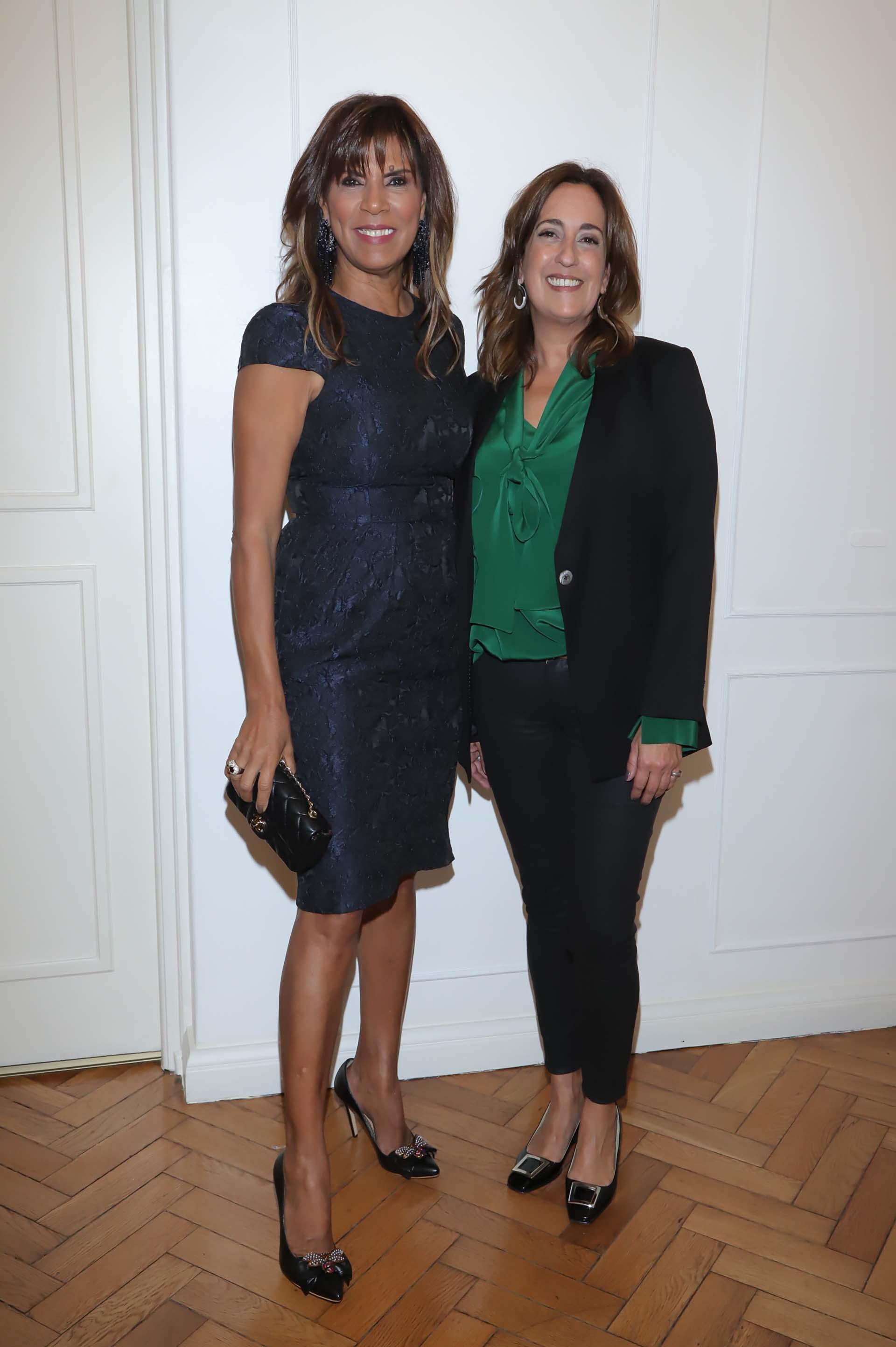 Anamá Ferreira acompañó a la diseñadora en el día de la inauguracióndel nuevo espacio