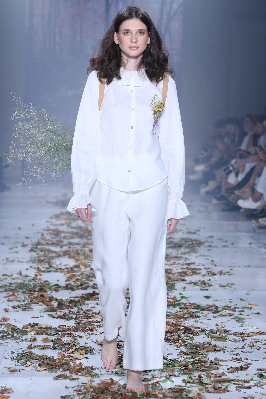Conjunto blanco (Gisela Franck).