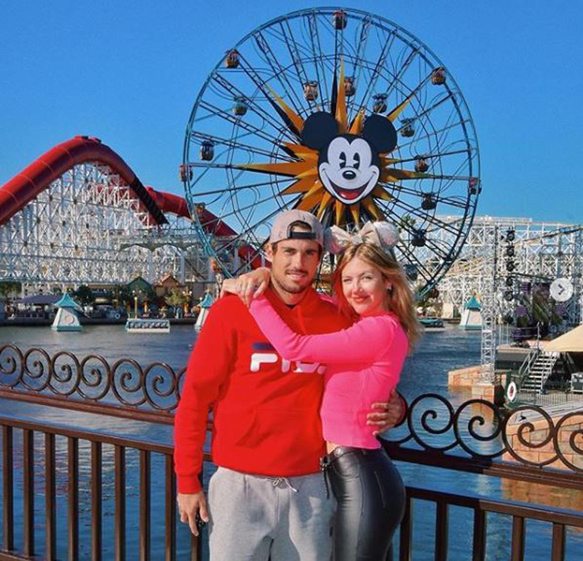 Stephanie y Guido, enamorados durante su viaje