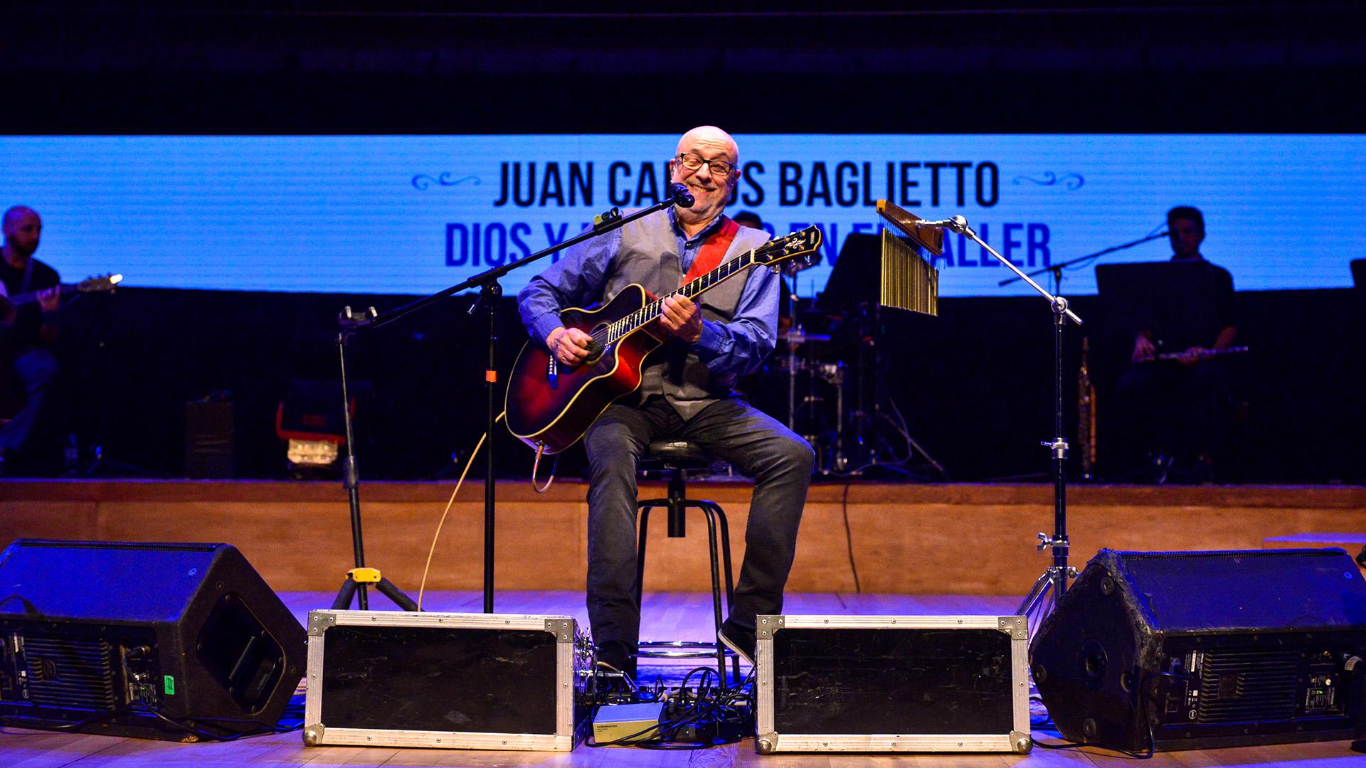 Juan Carlos Baglietto en acción