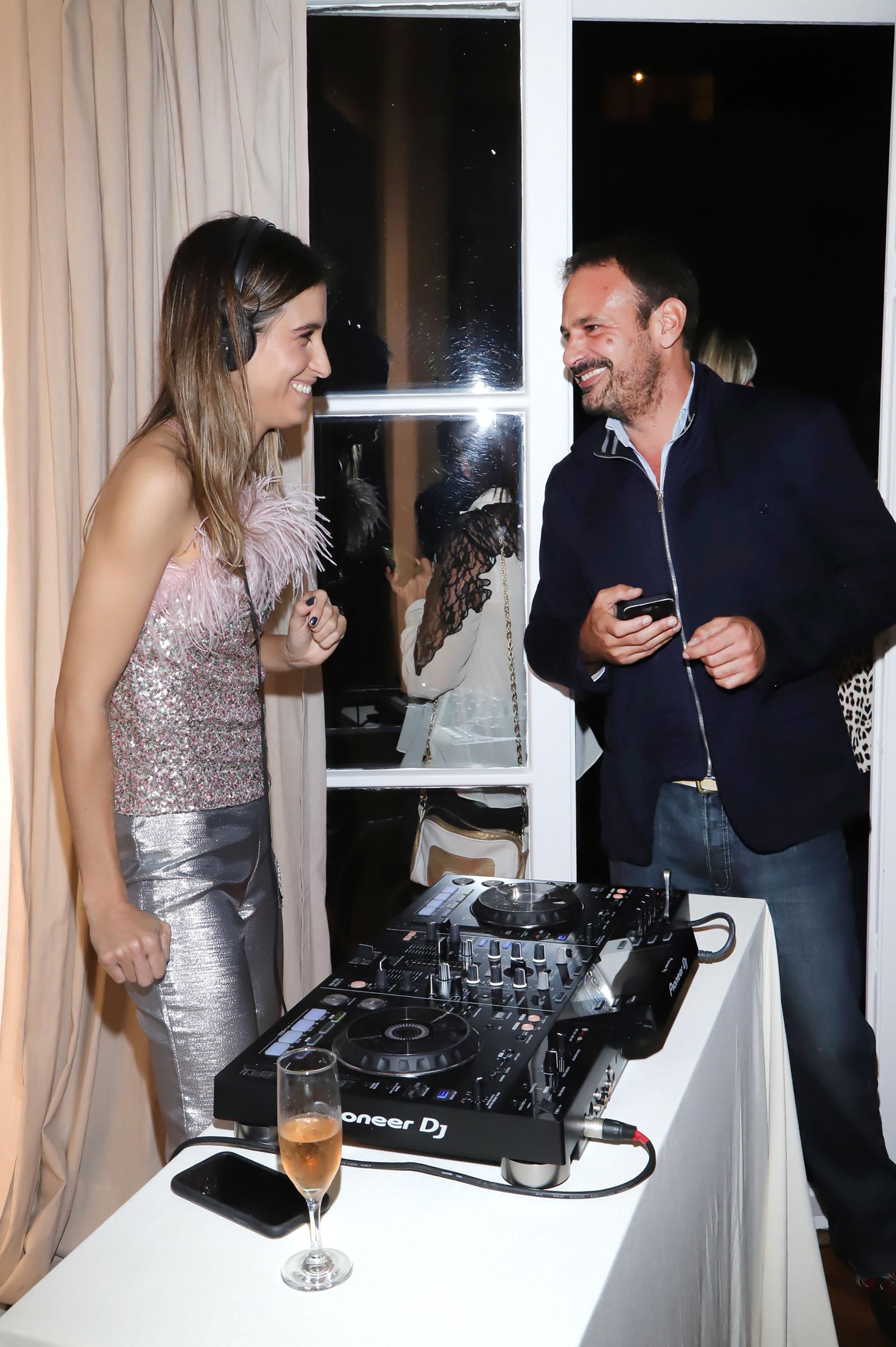 Cintia Garrido y Eduardo Pérez González Ocantos