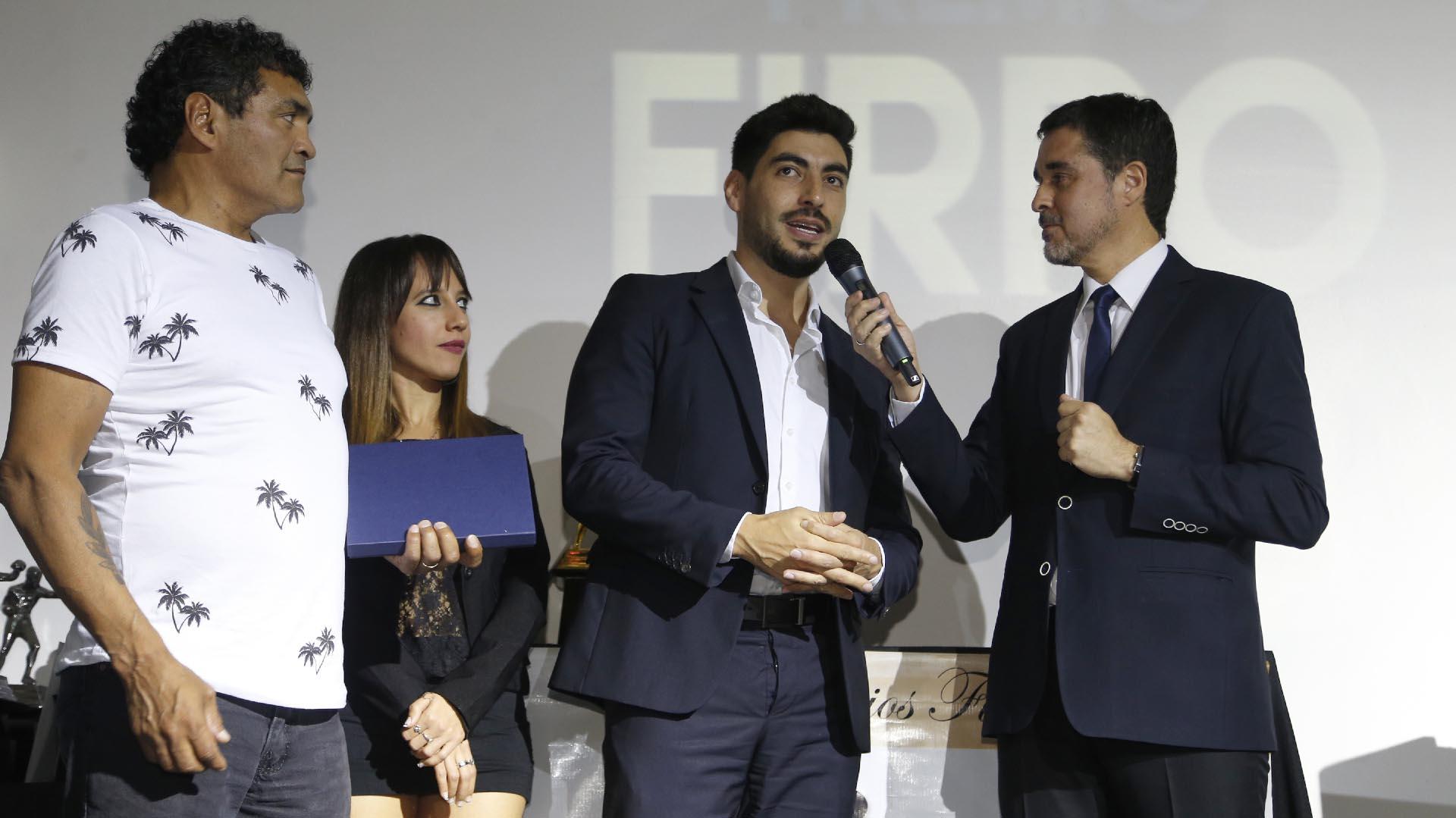 """El diputado nacional Facundo Moyano y """"Locomotora"""" Castro"""
