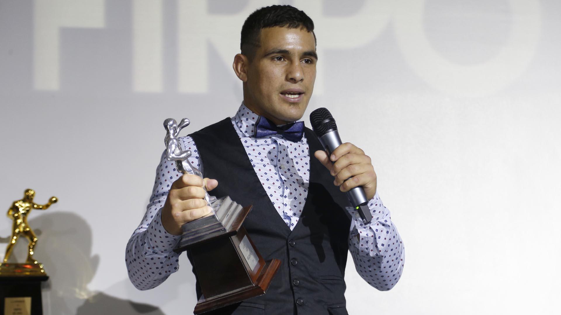 """Gustavo """"Tito"""" Lemos, protagonista de la mejor pelea del año con Uriel Pérez en octubre del 2018"""