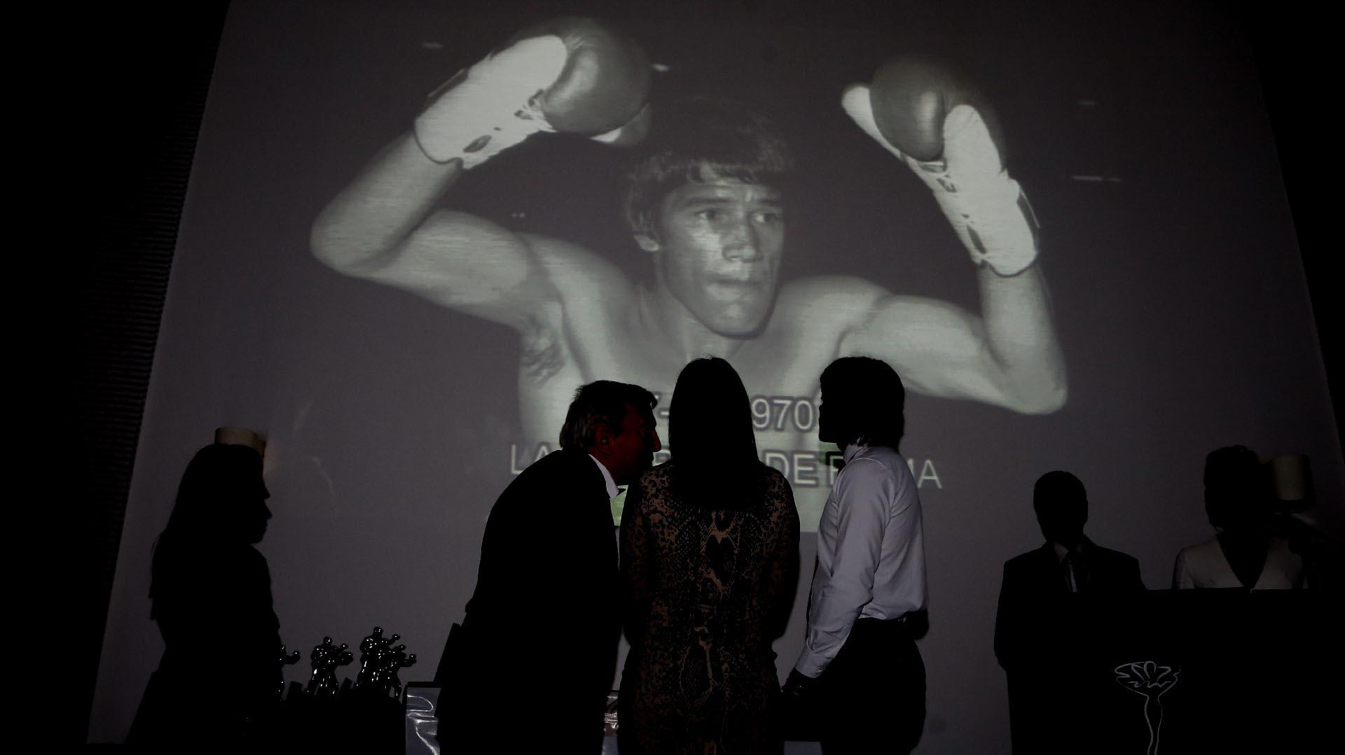 El homenaje a Carlos Monzón