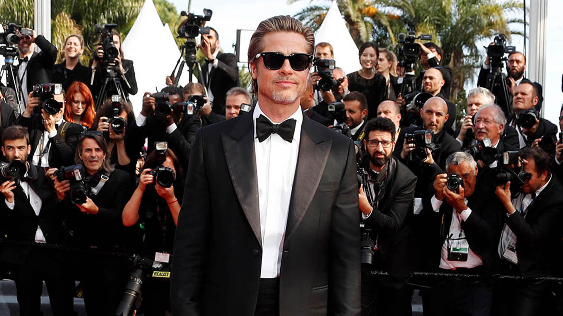 """Once Upon a Time in Hollywood"" marca el retorno de Brad Pitt a la gran pantalla tras protagonizar ""War Machine"", de Netflix, en 2017"